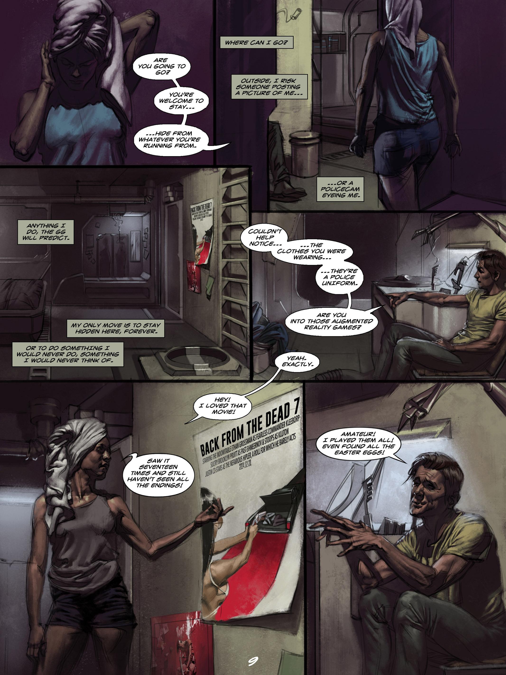Read online Wynter comic -  Issue #4 - 10