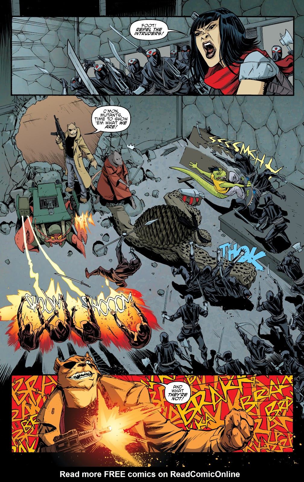 Read online Teenage Mutant Ninja Turtles: The IDW Collection comic -  Issue # TPB 5 (Part 4) - 20