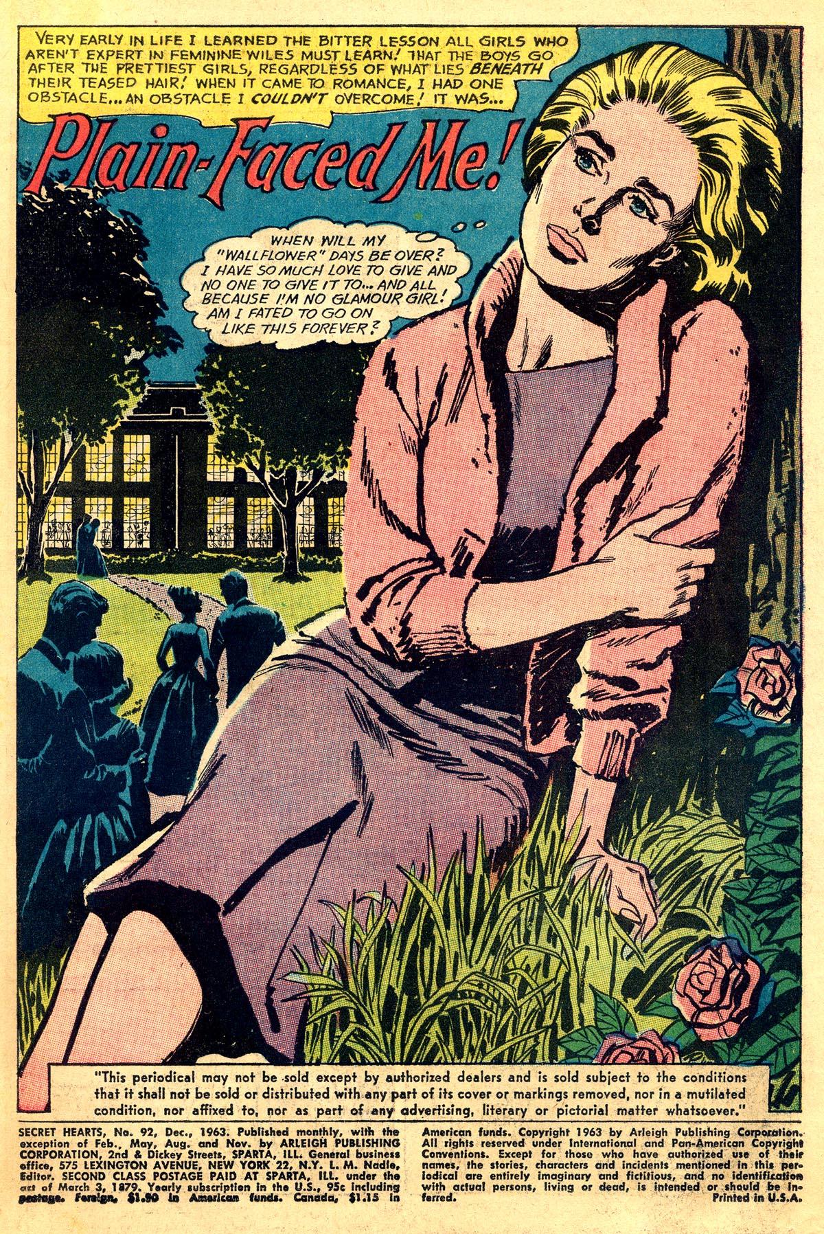 Read online Secret Hearts comic -  Issue #92 - 3