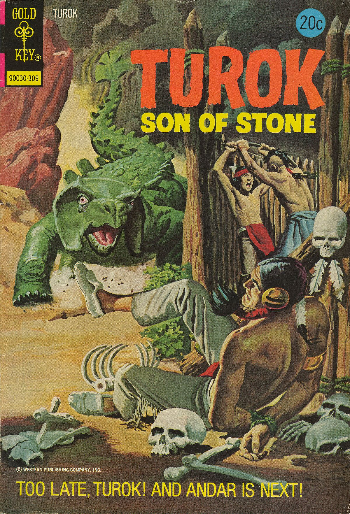 Read online Turok, Son of Stone comic -  Issue #86 - 1