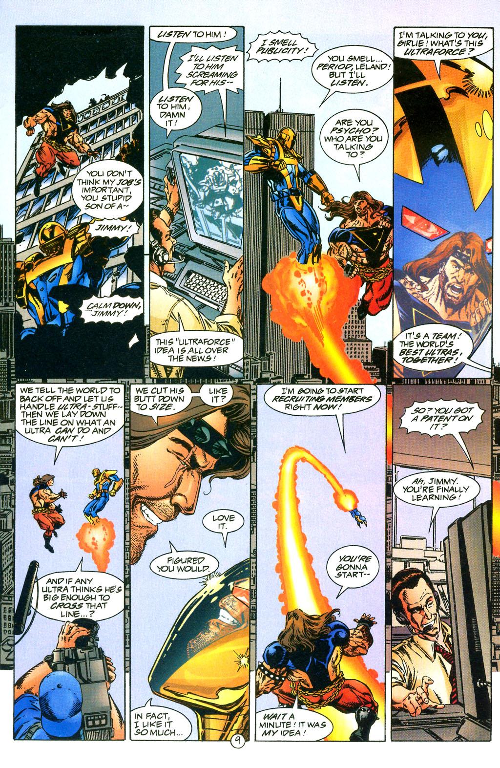 Read online UltraForce (1994) comic -  Issue #0 - 24