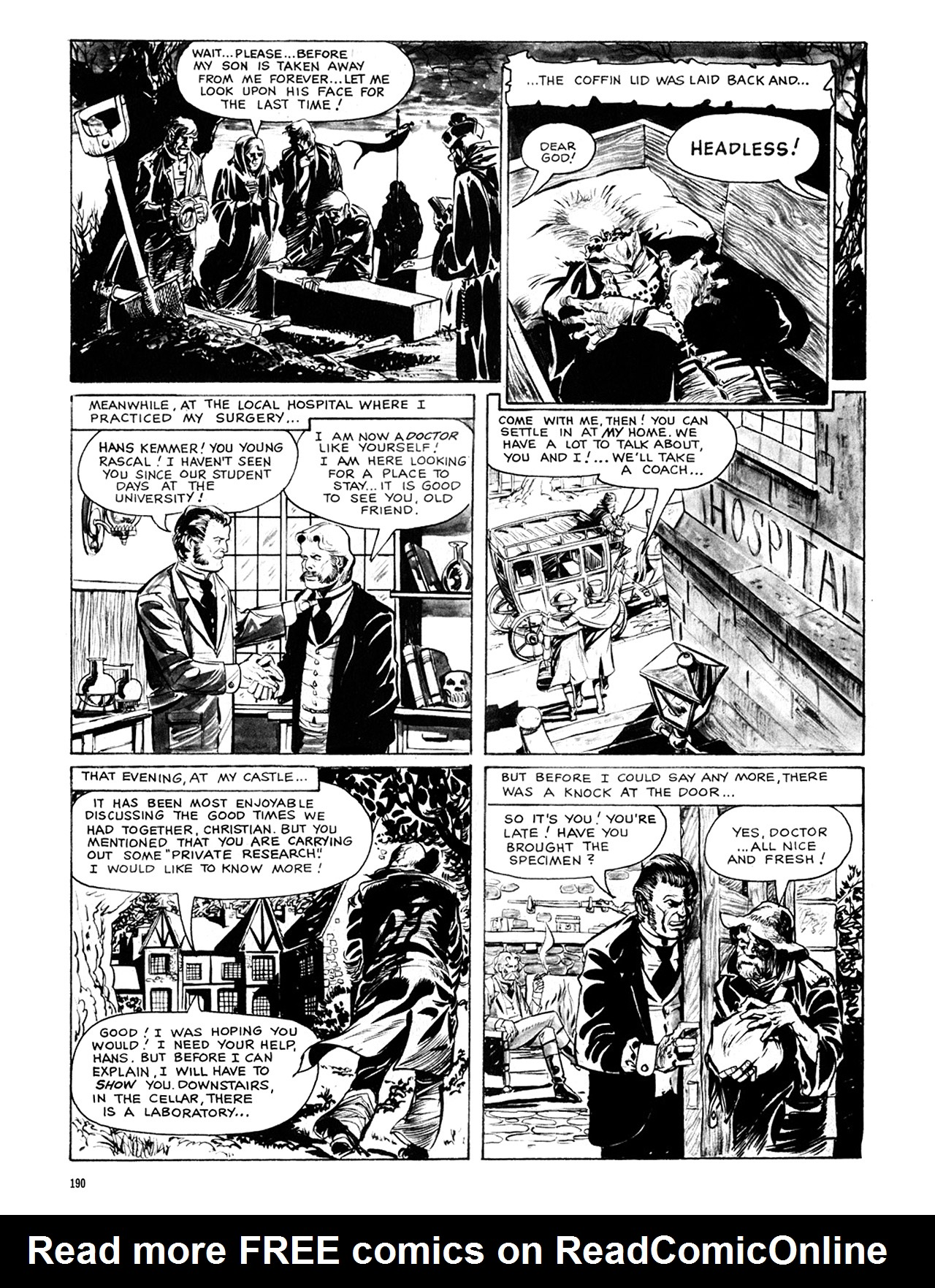 Read online Eerie Archives comic -  Issue # TPB 8 - 191