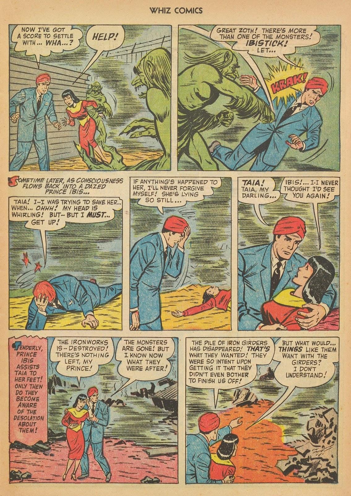Read online WHIZ Comics comic -  Issue #153 - 13