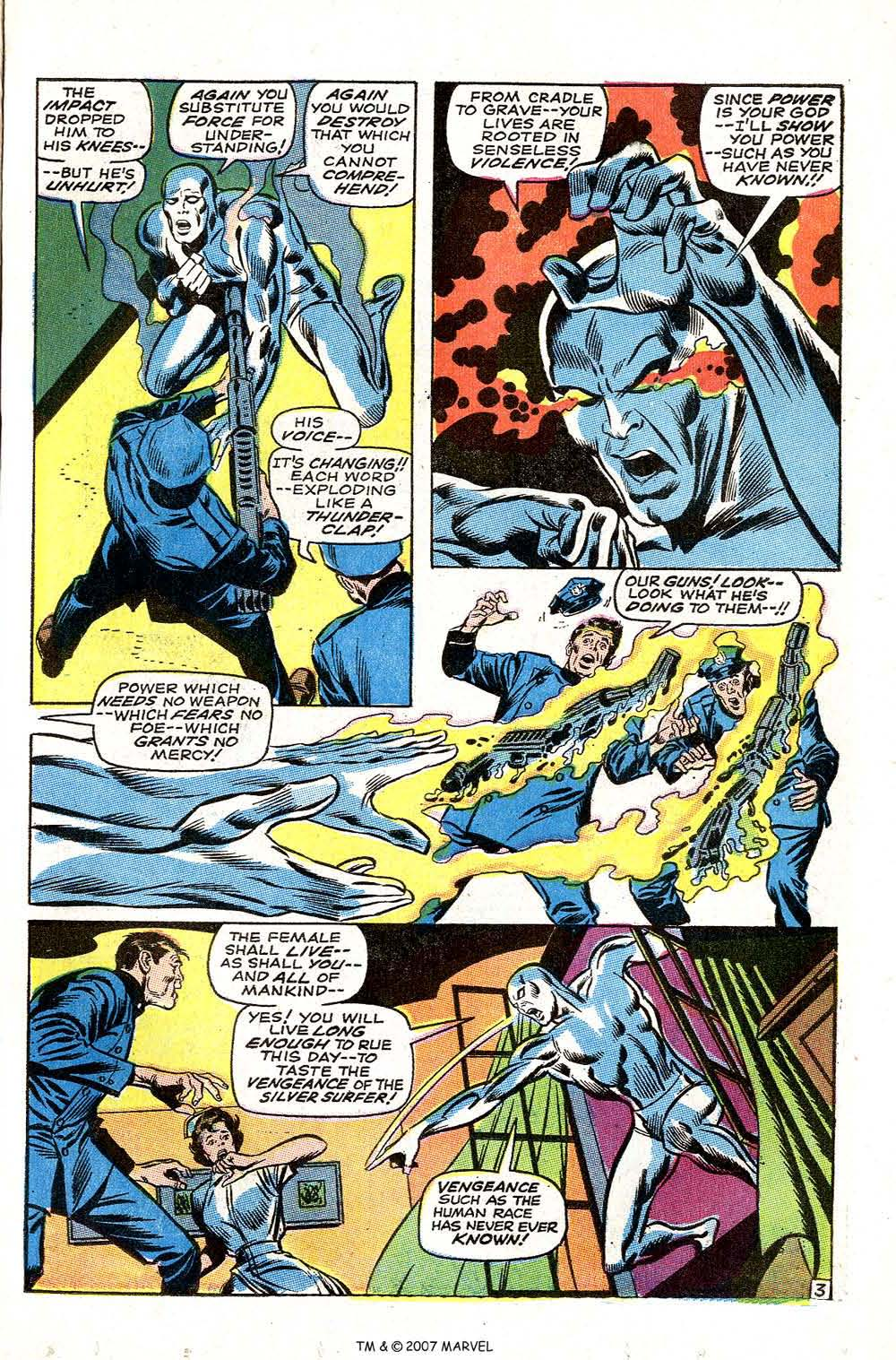 Silver Surfer (1968) issue 3 - Page 5