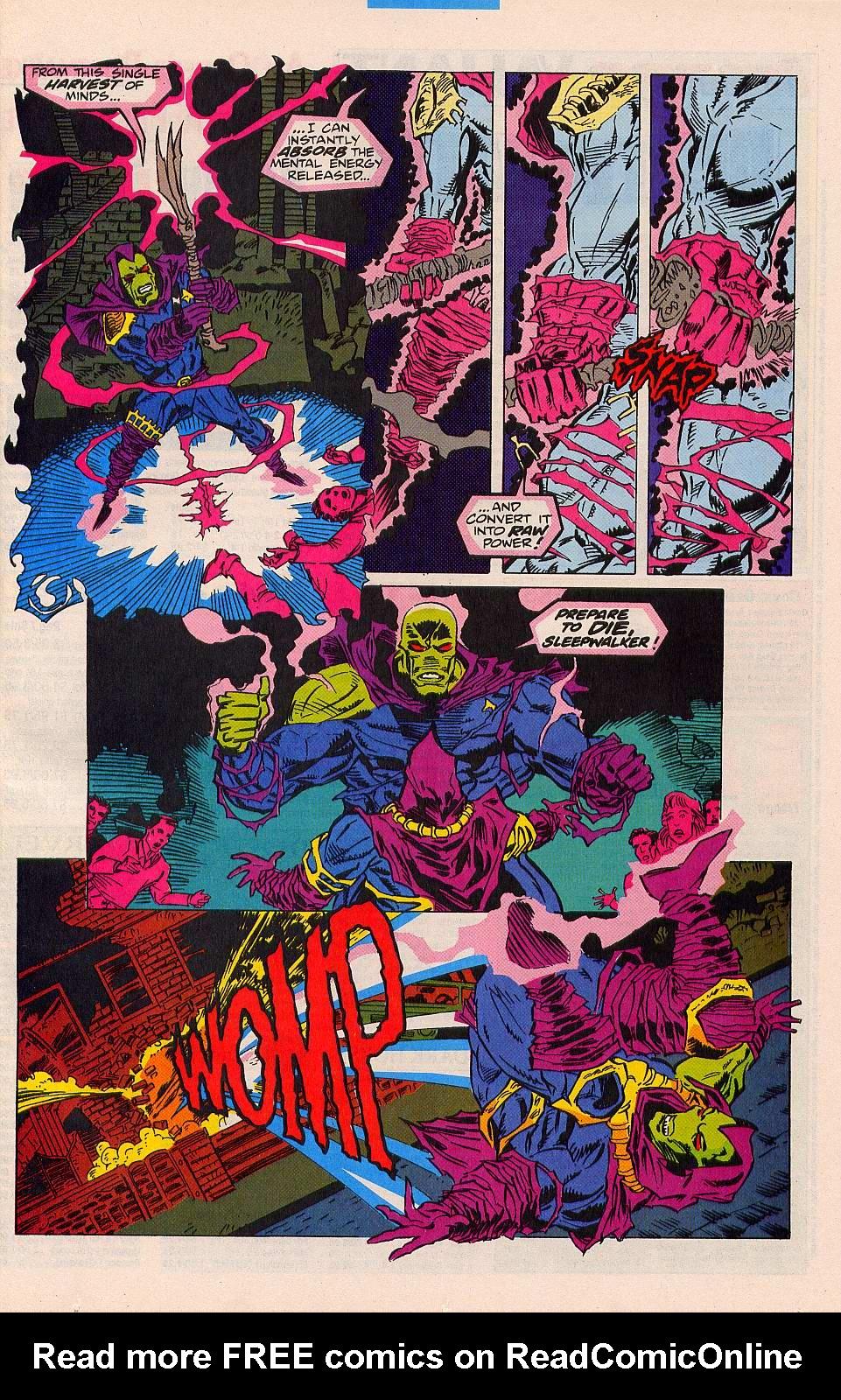 Read online Sleepwalker comic -  Issue #26 - 18