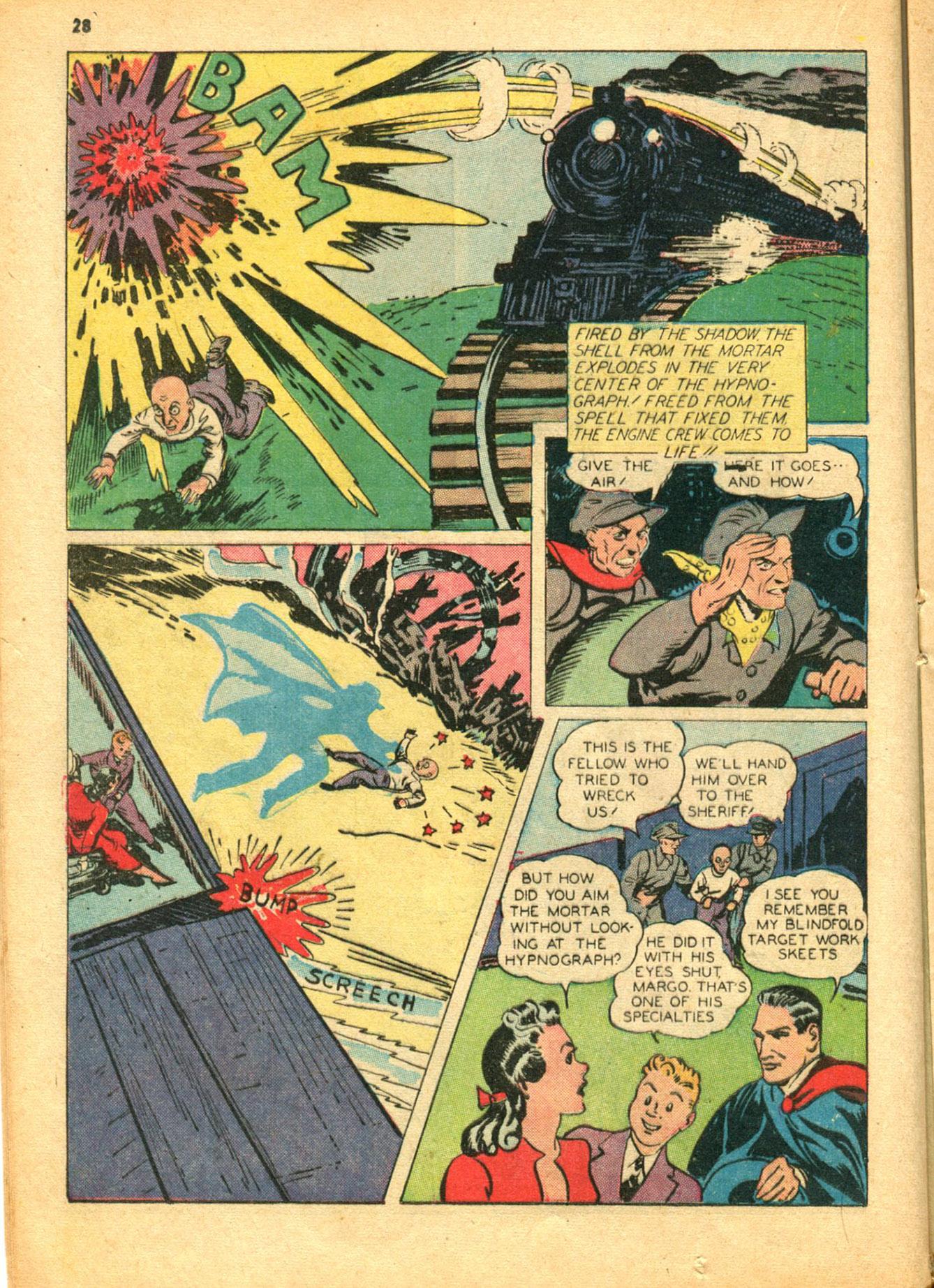 Read online Shadow Comics comic -  Issue #30 - 28