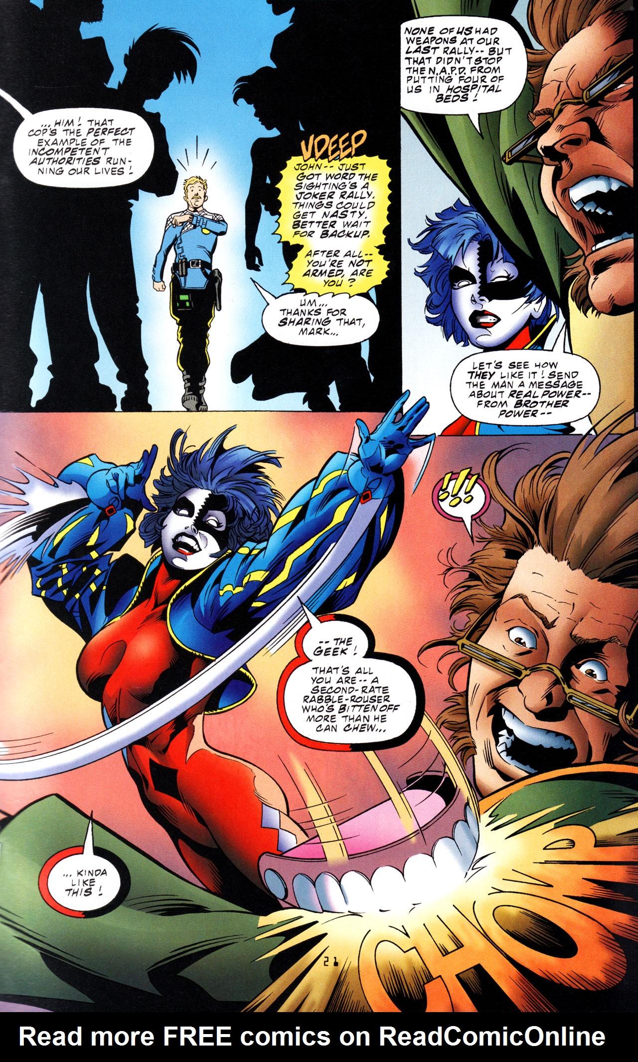 Read online Tangent Comics/ The Joker comic -  Issue # Full - 22