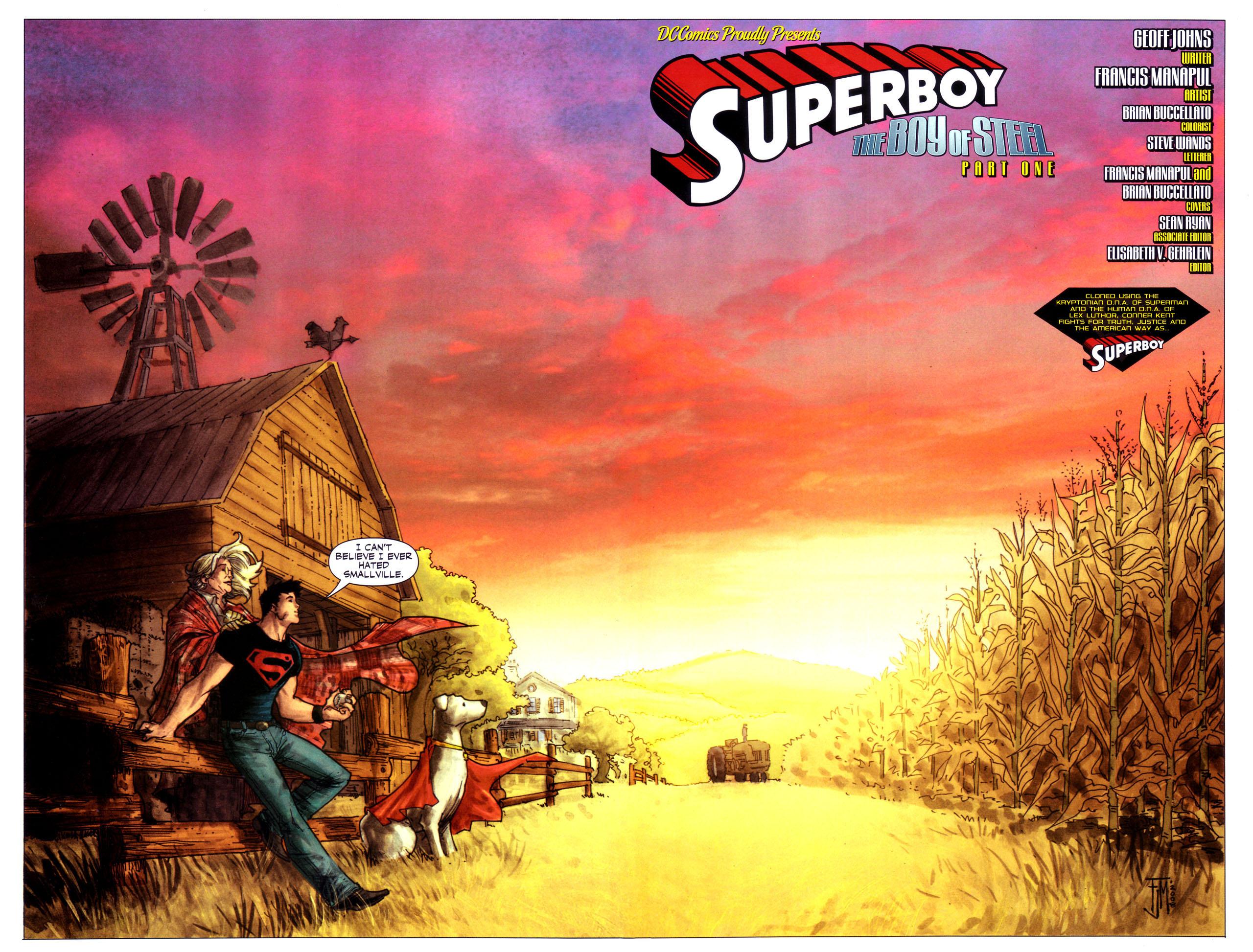 Read online Adventure Comics (2009) comic -  Issue #1 - 3