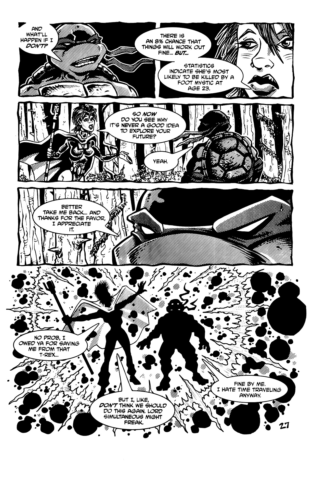 Read online Tales of the TMNT comic -  Issue #69 - 30