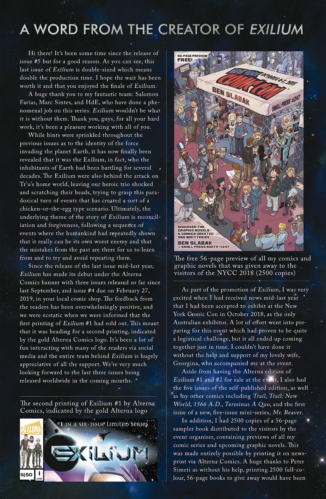 Exilium issue 6 - Page 51