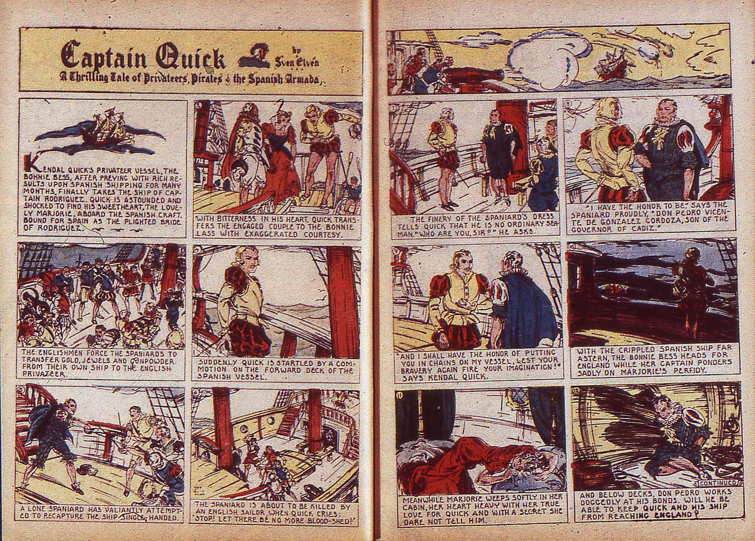 Read online Adventure Comics (1938) comic -  Issue #5 - 7