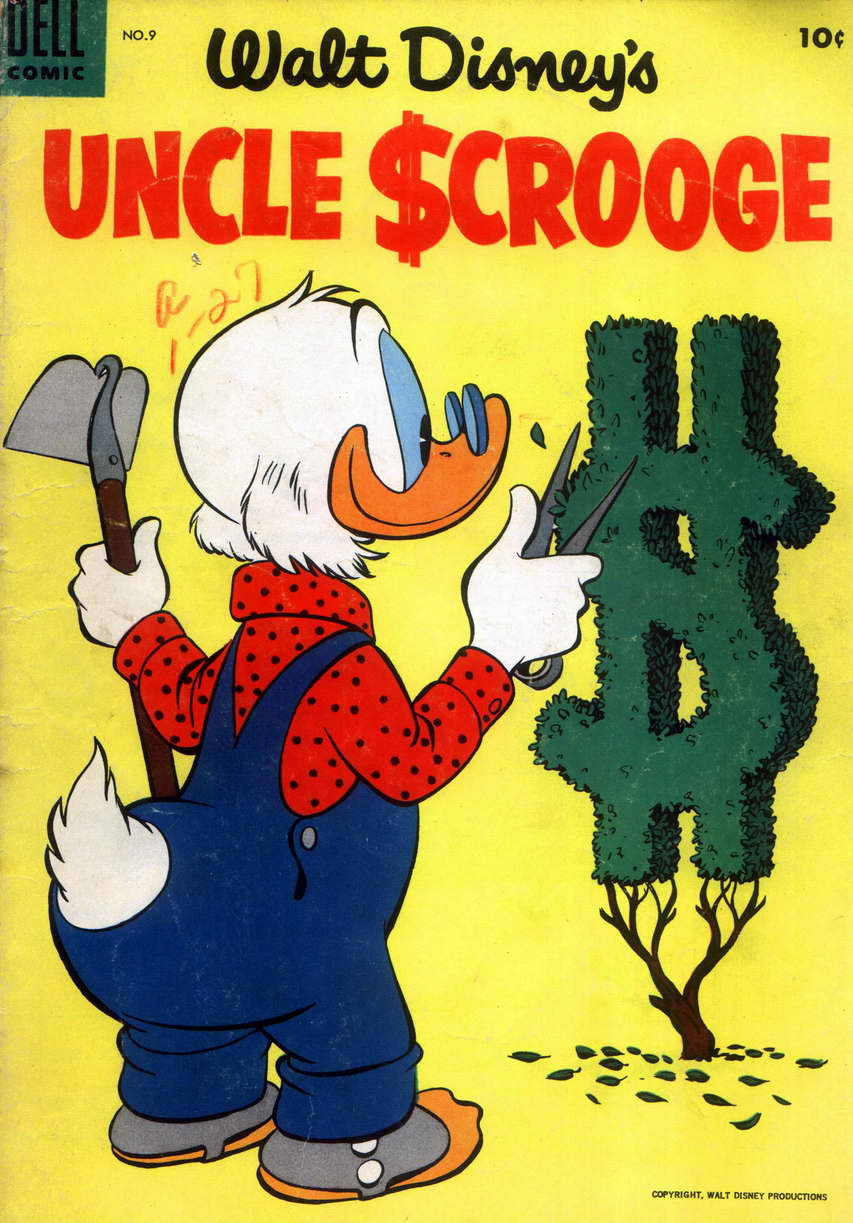 Read online Uncle Scrooge (1953) comic -  Issue #9 - 1