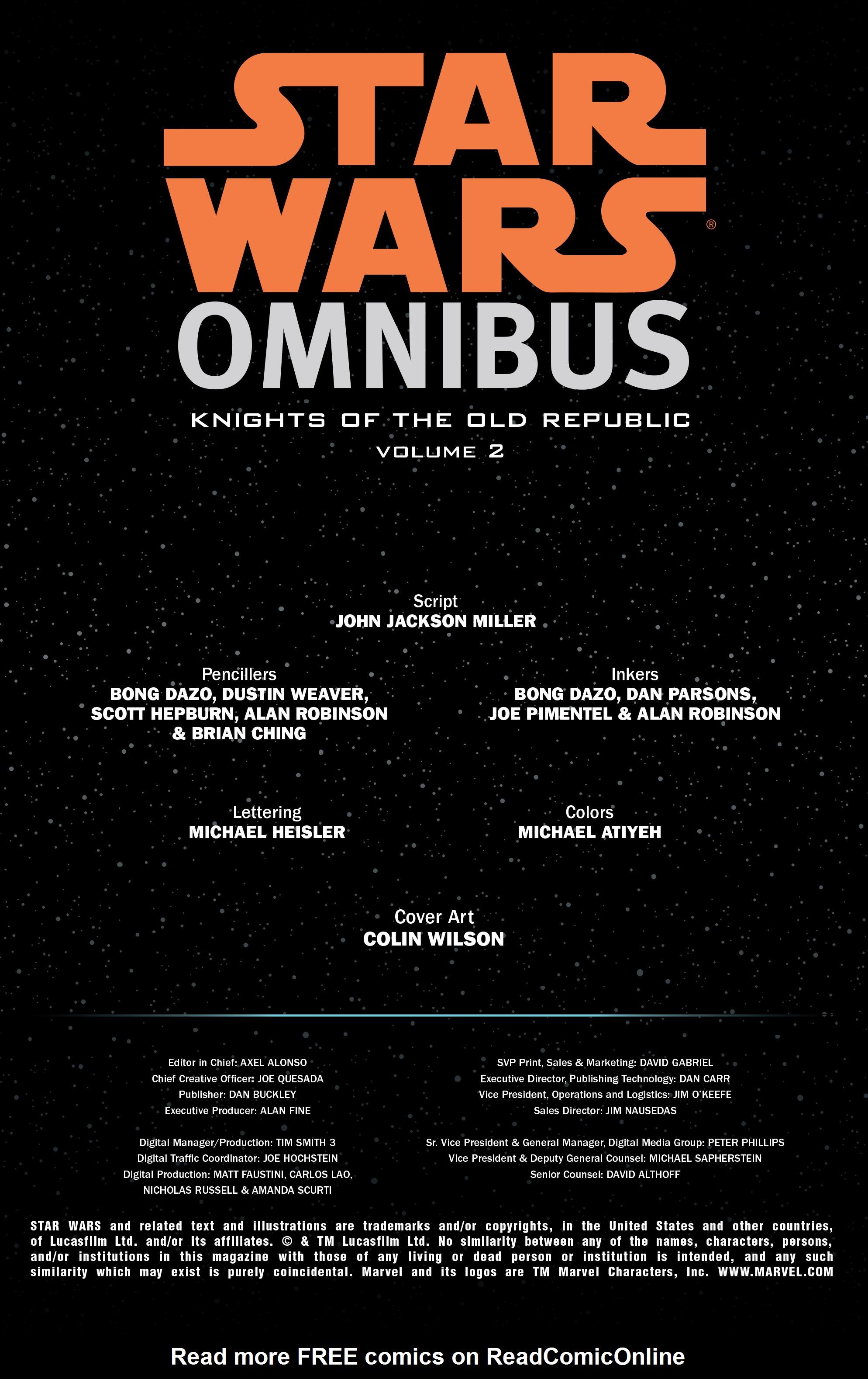 Read online Star Wars Omnibus comic -  Issue # Vol. 32 - 2