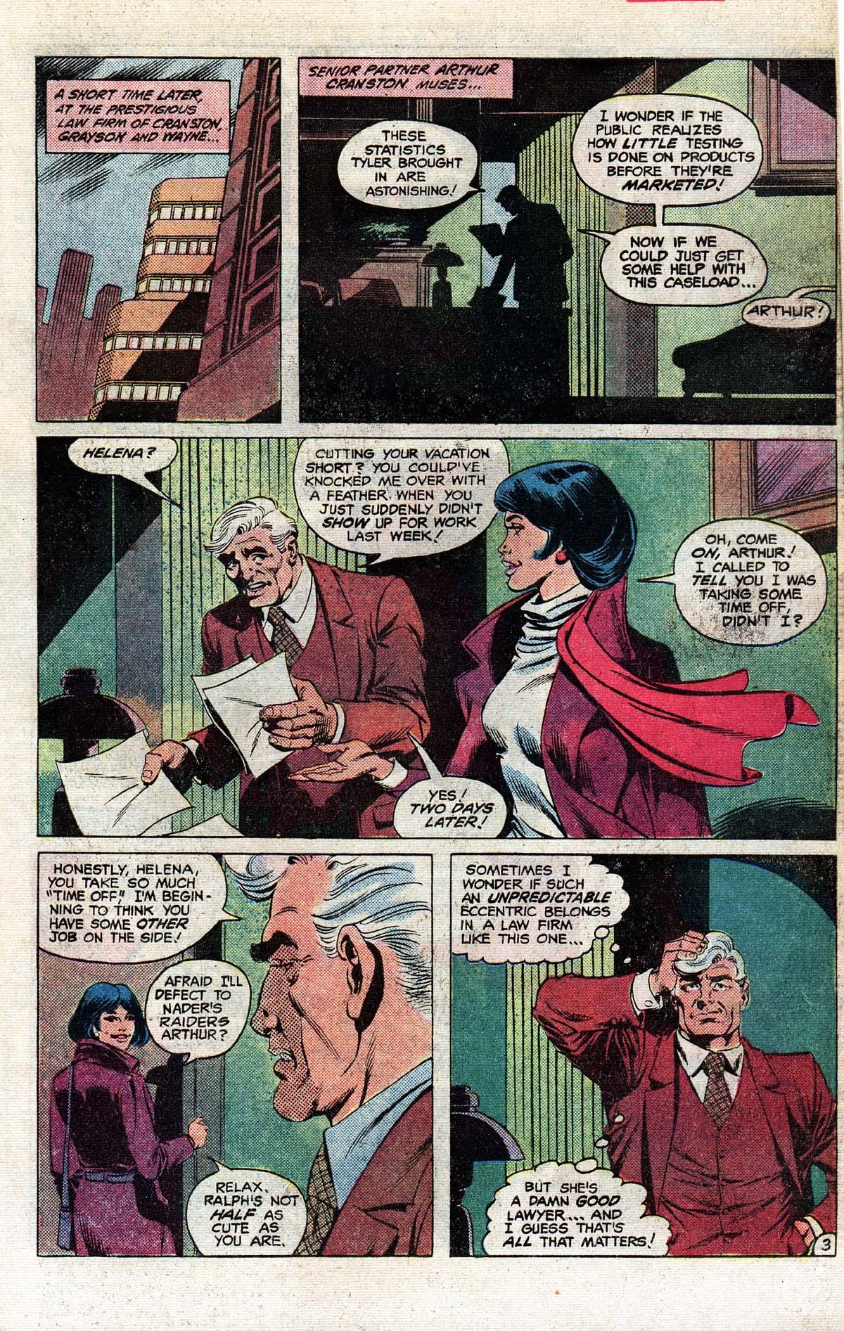 Read online Wonder Woman (1942) comic -  Issue #296 - 22