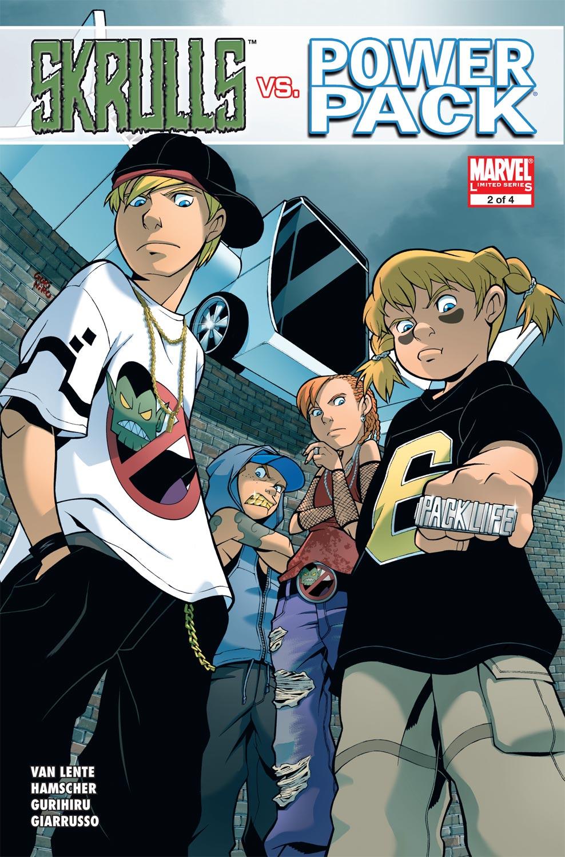 Read online Skrulls vs. Power Pack comic -  Issue #2 - 1
