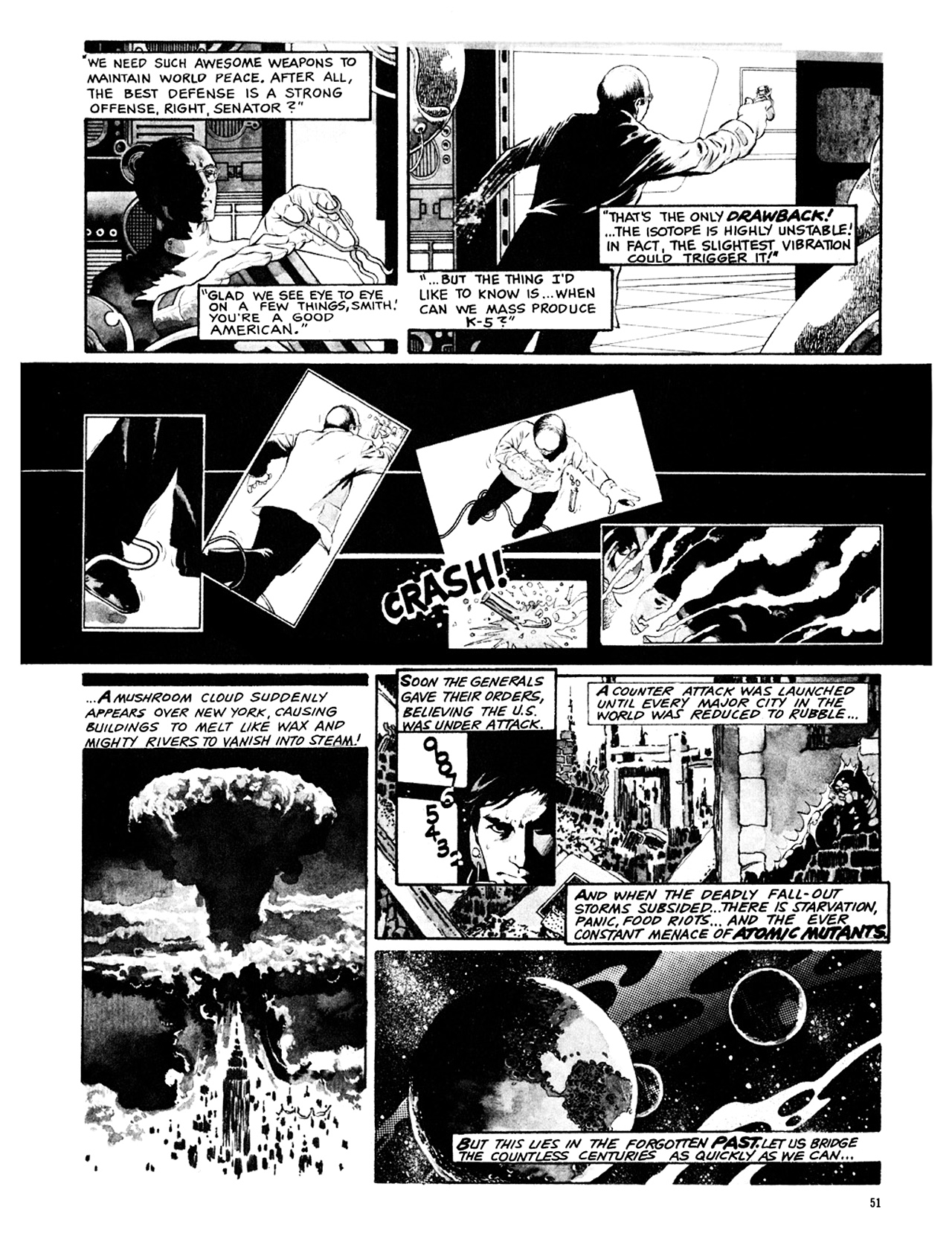 Read online Eerie Archives comic -  Issue # TPB 9 - 52