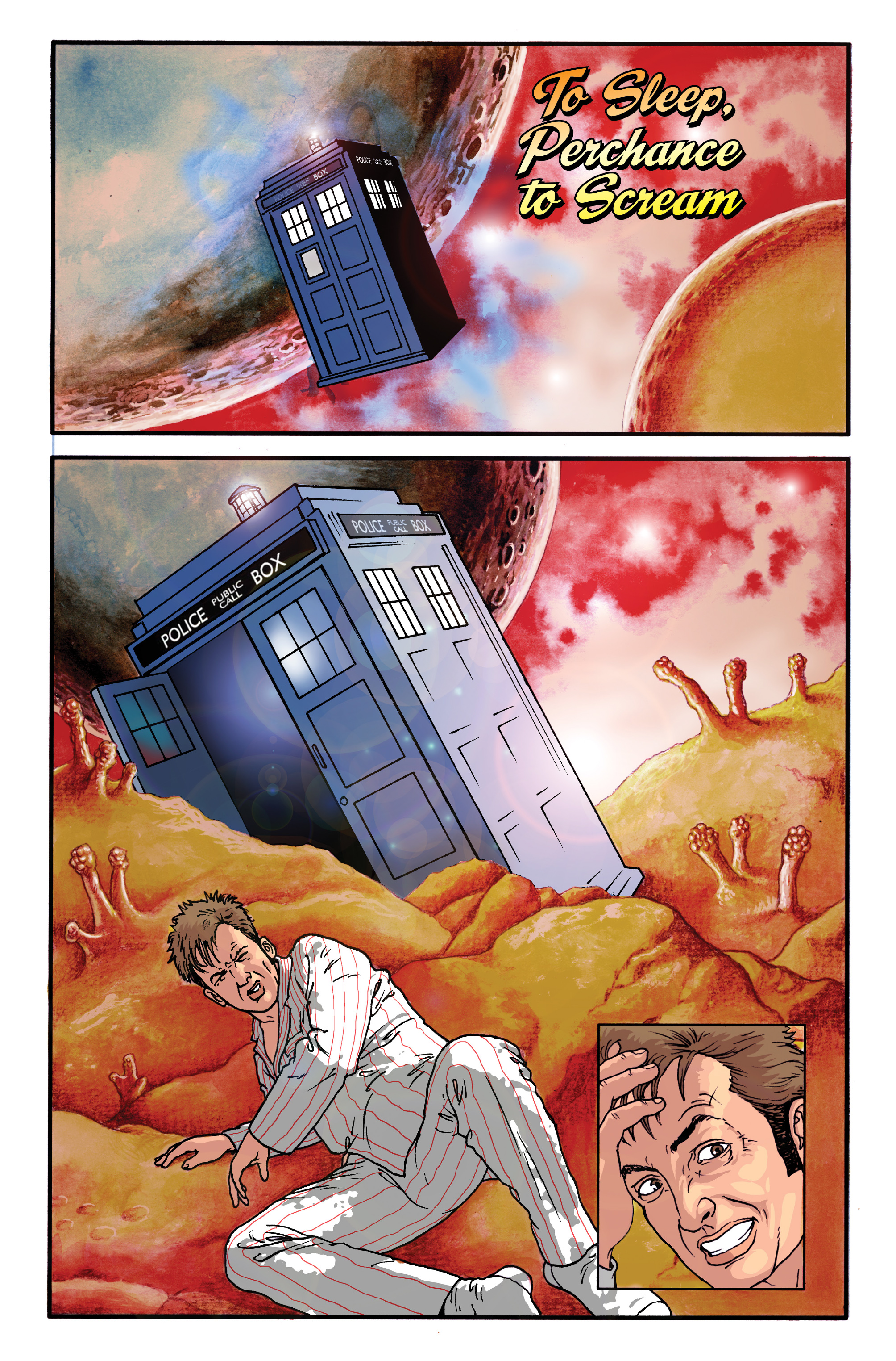 Read online Doctor Who: The Tenth Doctor Archives comic -  Issue #35 - 37