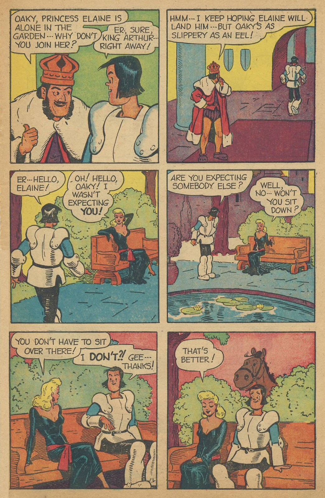 Read online Famous Funnies comic -  Issue #150 - 47