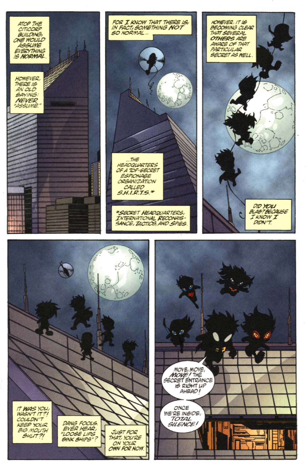 Read online SpyBoy/Young Justice comic -  Issue #1 - 3