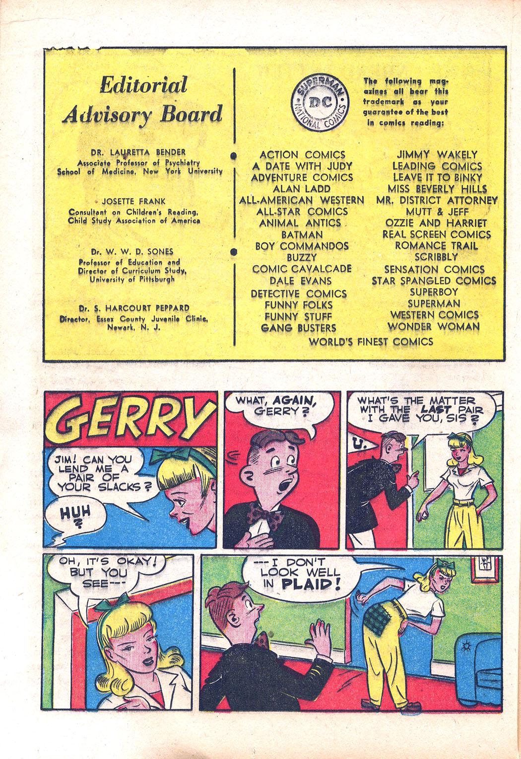 Read online Sensation (Mystery) Comics comic -  Issue #94 - 34