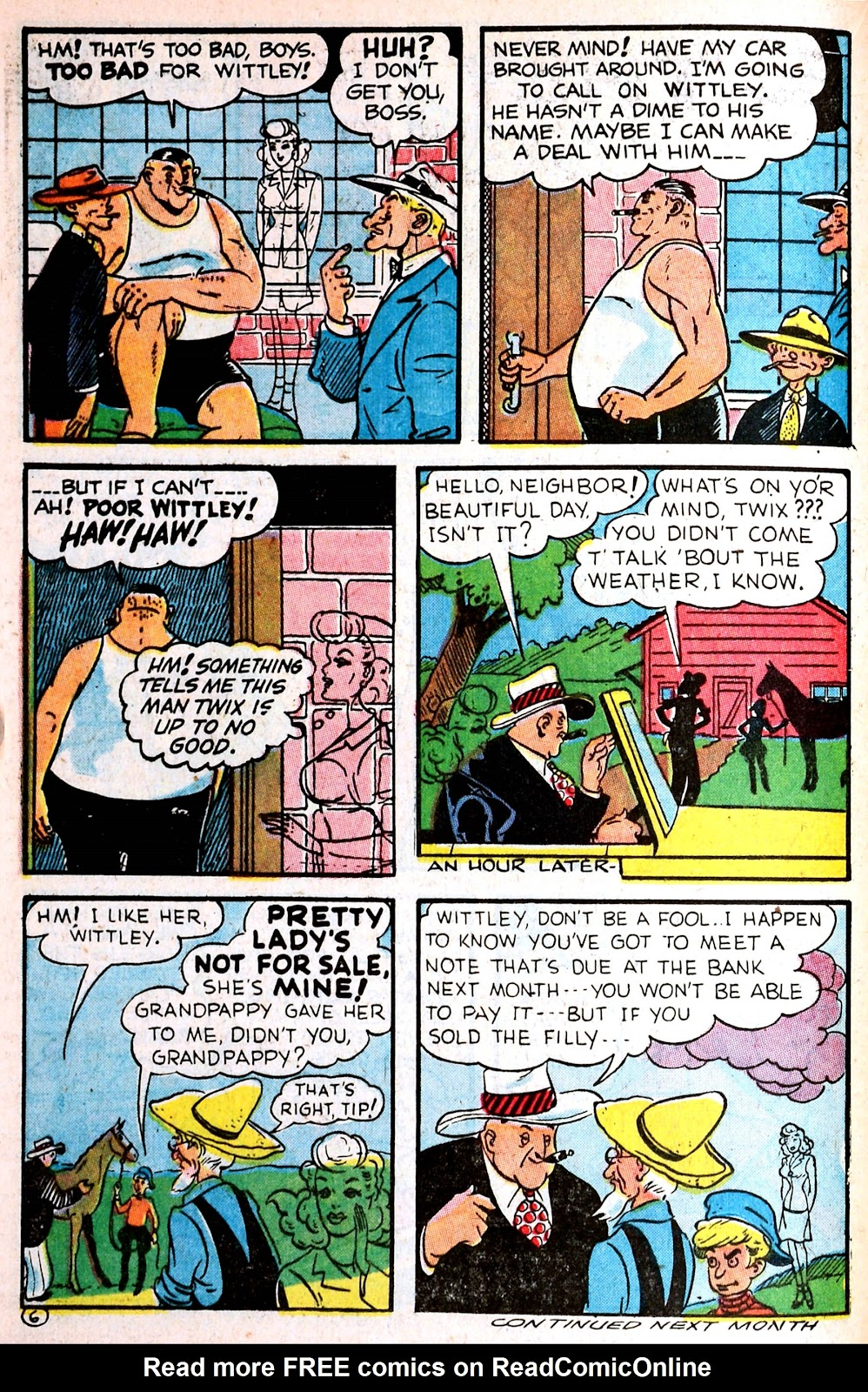 Read online Famous Funnies comic -  Issue #139 - 18