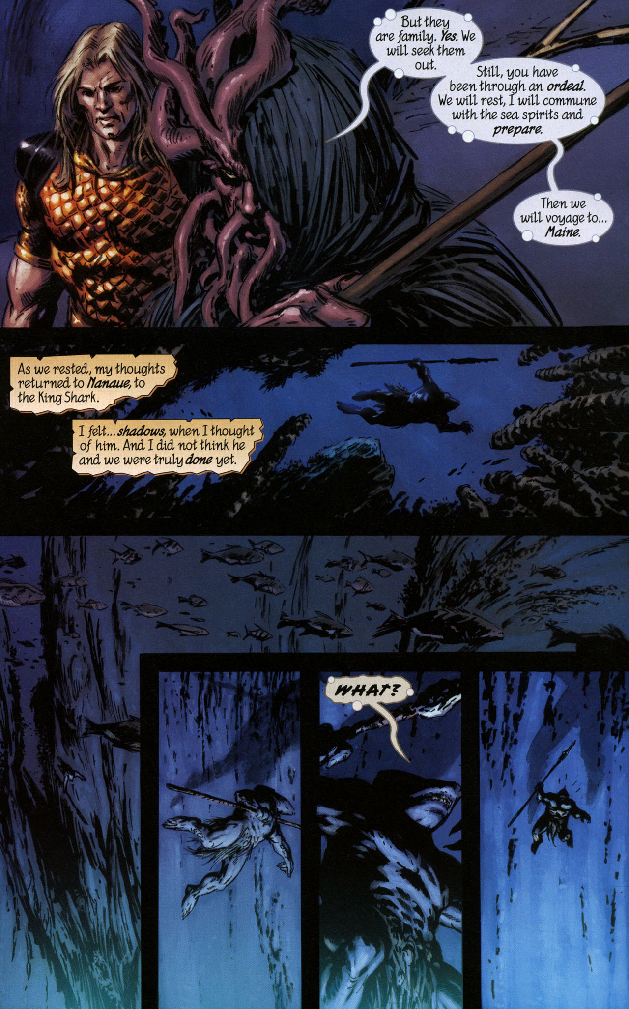 Read online Aquaman: Sword of Atlantis comic -  Issue #41 - 8
