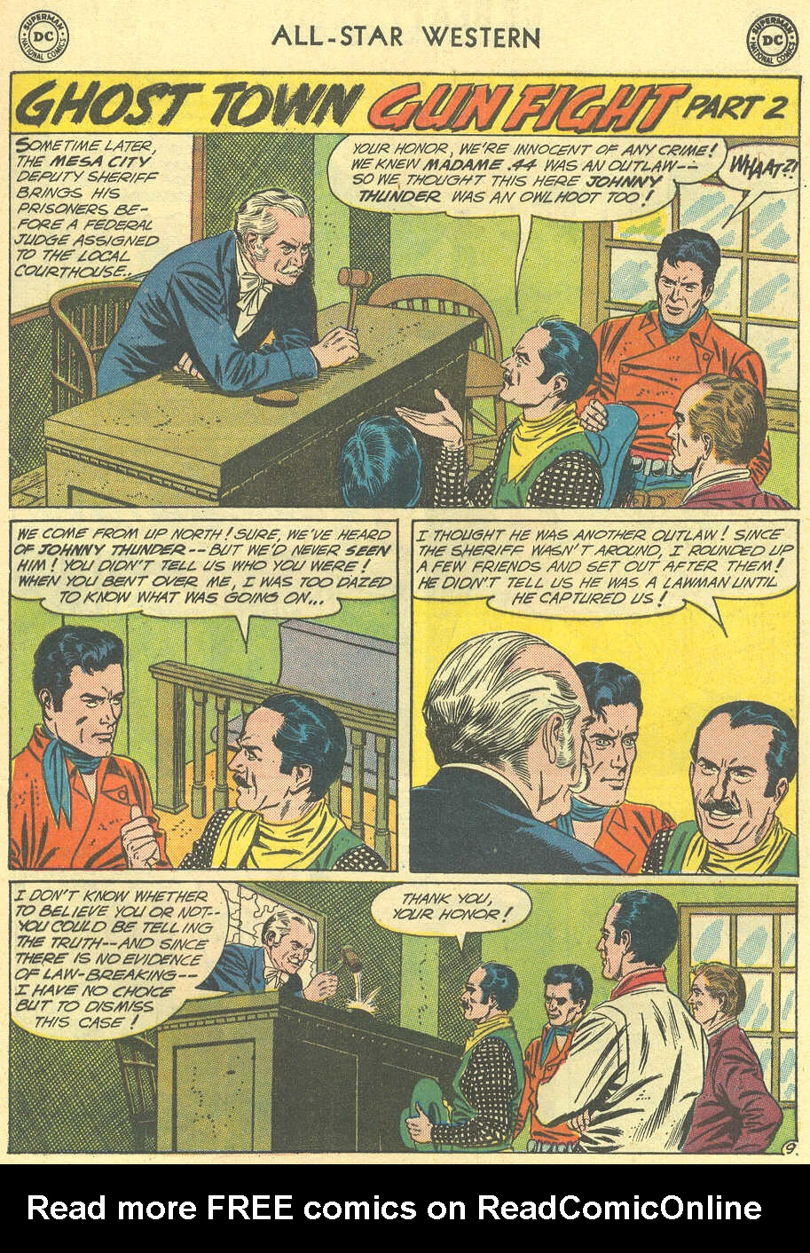 Read online All-Star Western (1951) comic -  Issue #119 - 13