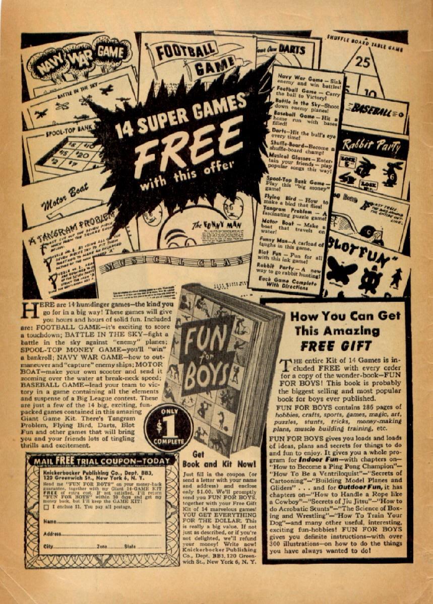 Read online Super-Magician Comics comic -  Issue #45 - 2