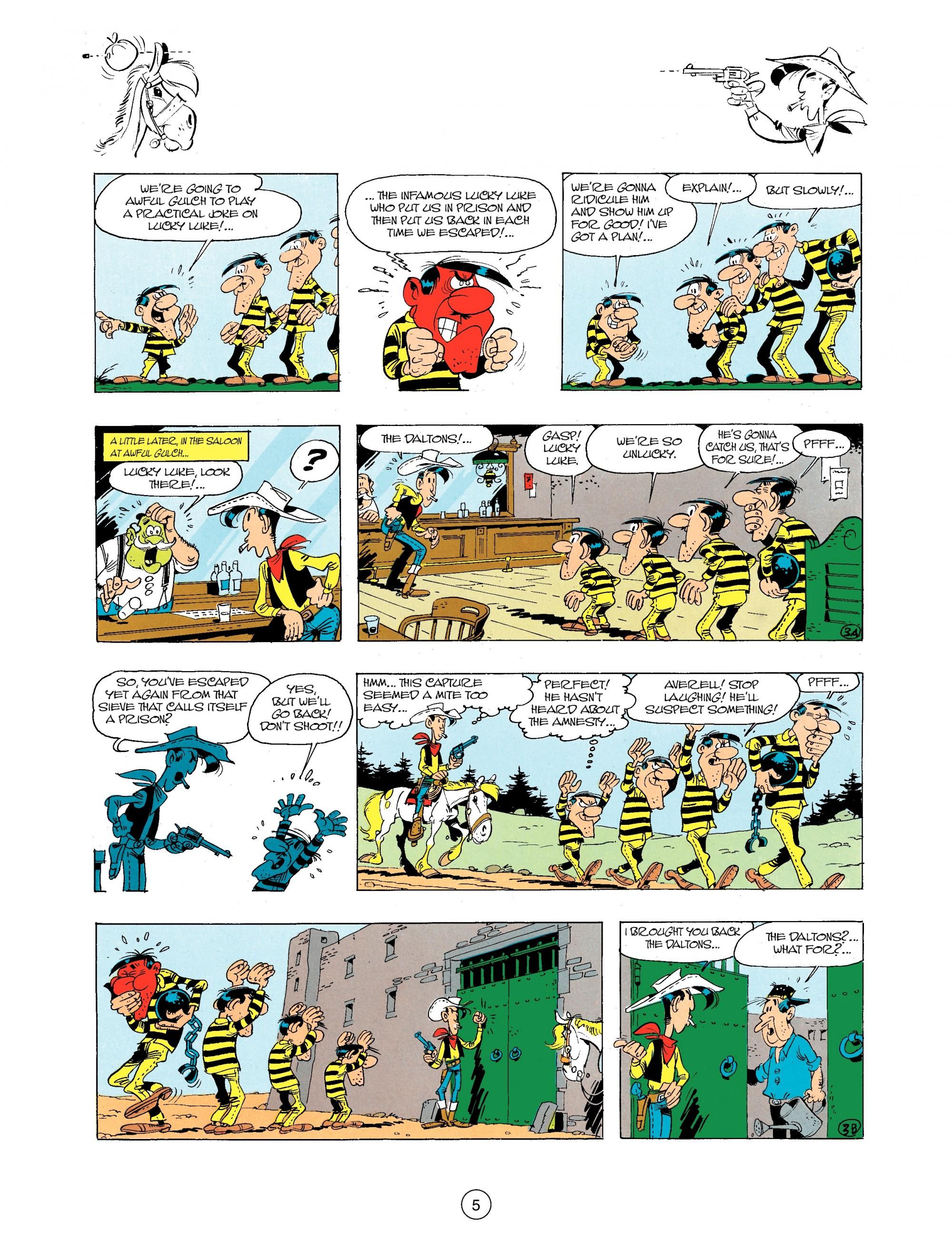Read online A Lucky Luke Adventure comic -  Issue #34 - 5