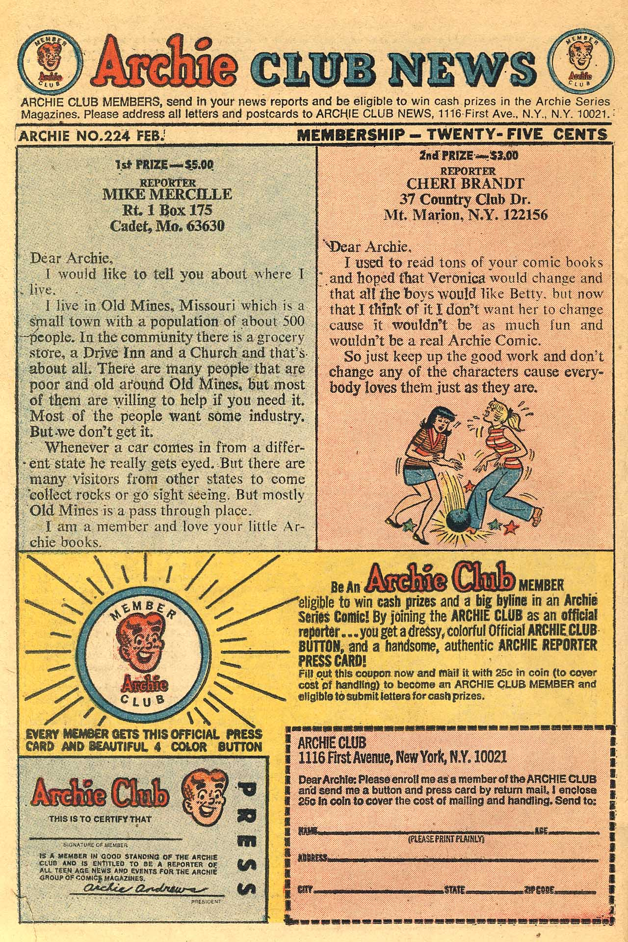 Read online Archie (1960) comic -  Issue #224 - 26