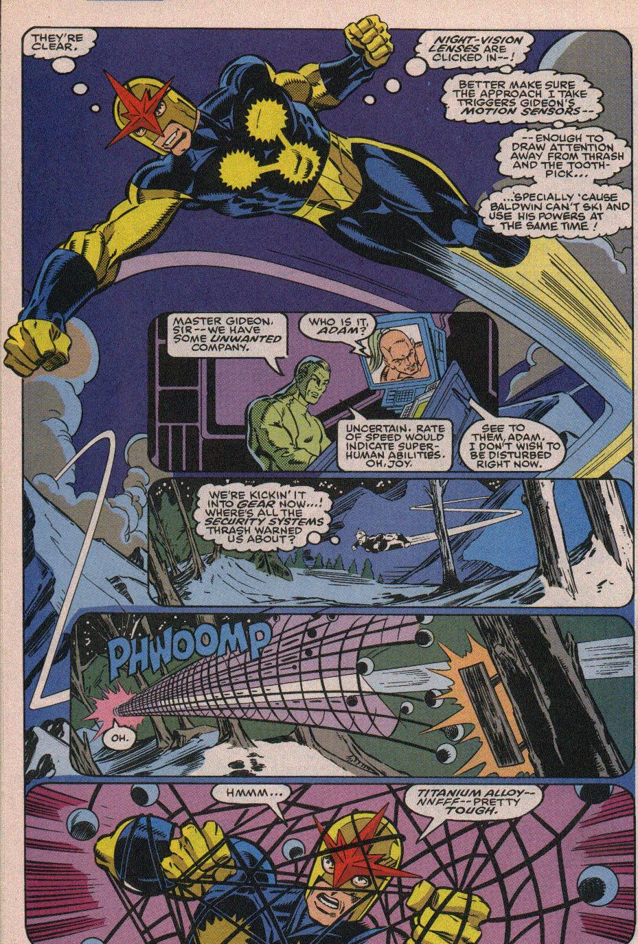 The New Warriors Issue #19 #23 - English 11