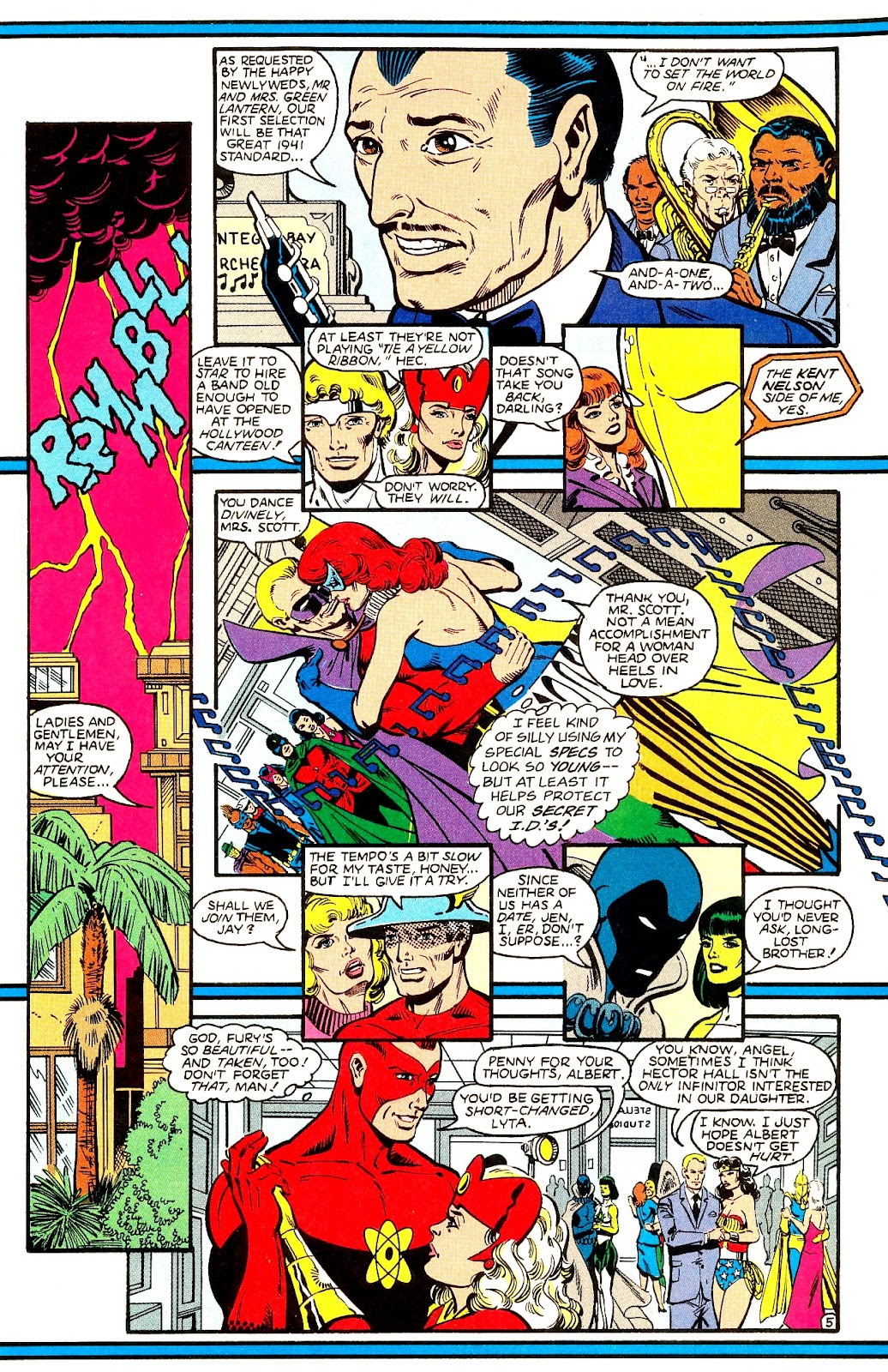 Infinity Inc. (1984) issue 21 - Page 7
