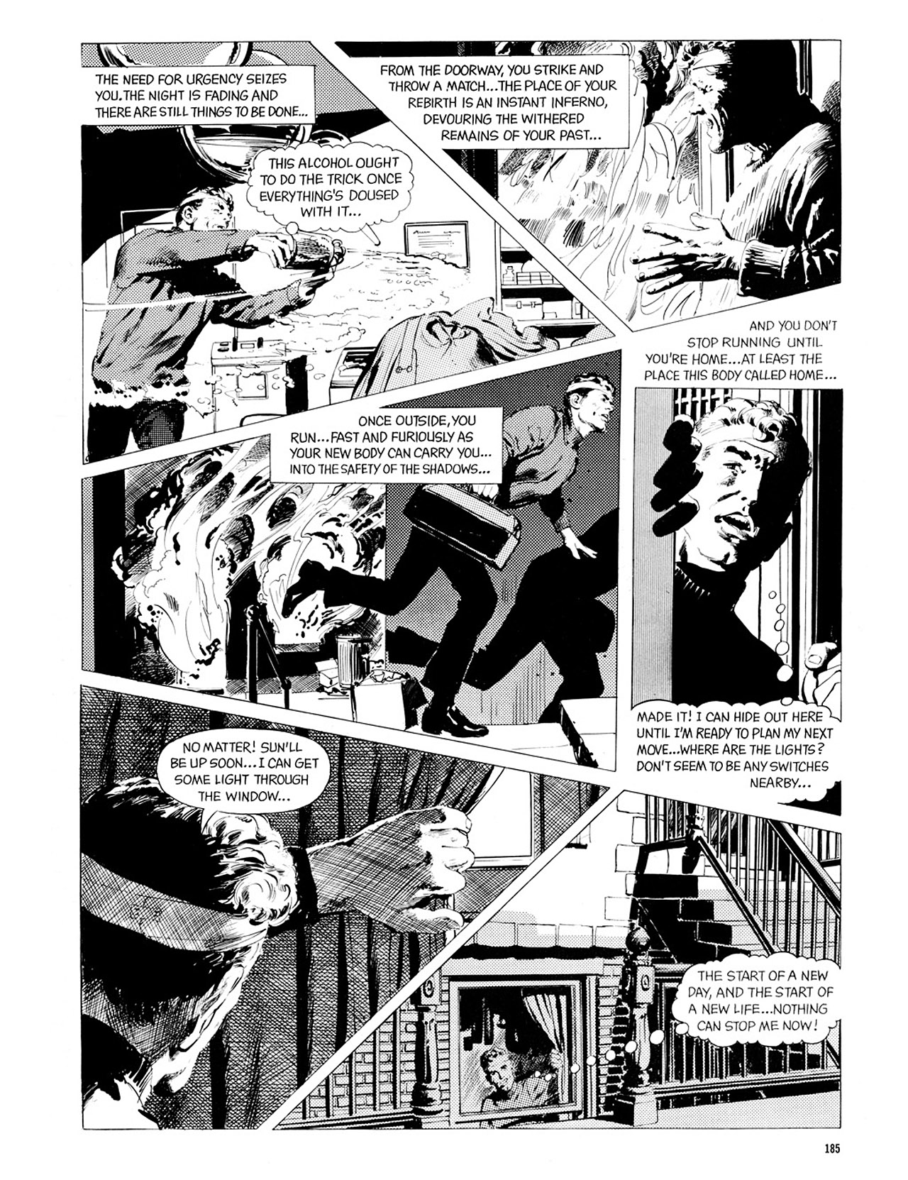 Read online Eerie Archives comic -  Issue # TPB 2 - 186