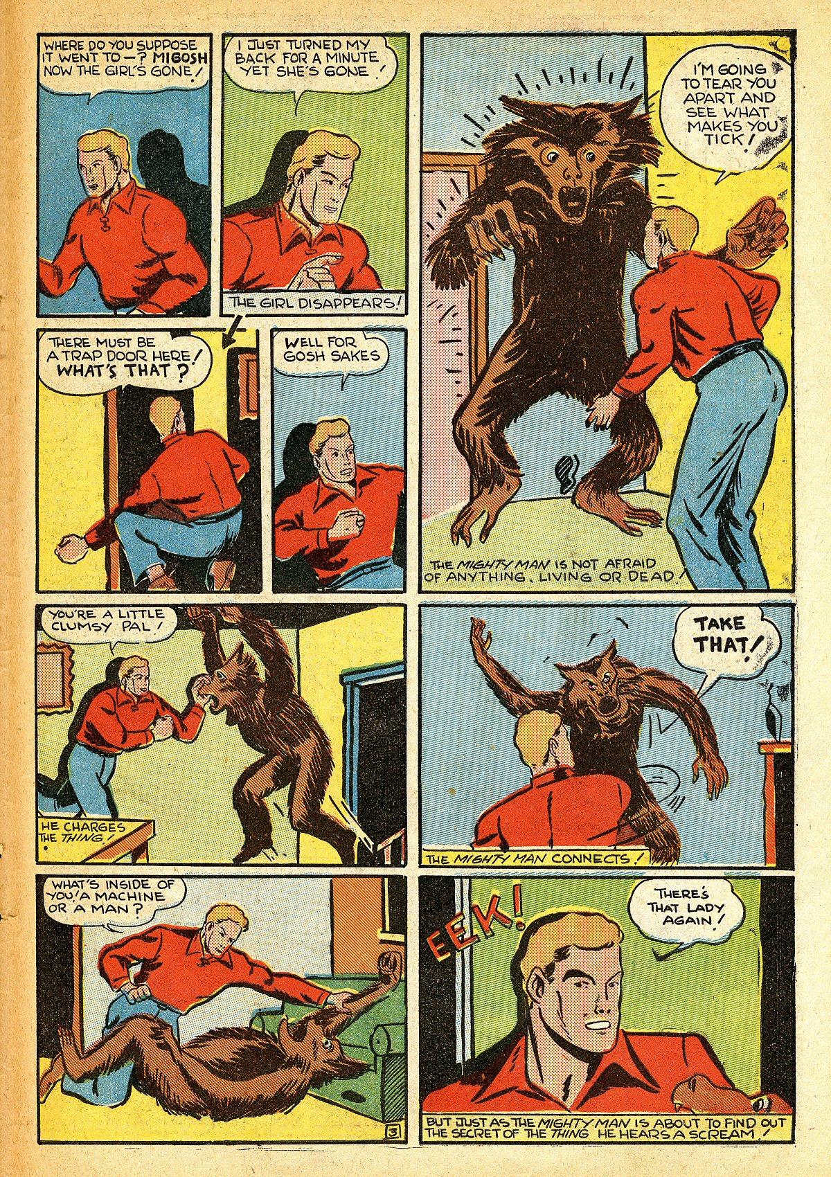 Read online Amazing Man Comics comic -  Issue #10 - 54