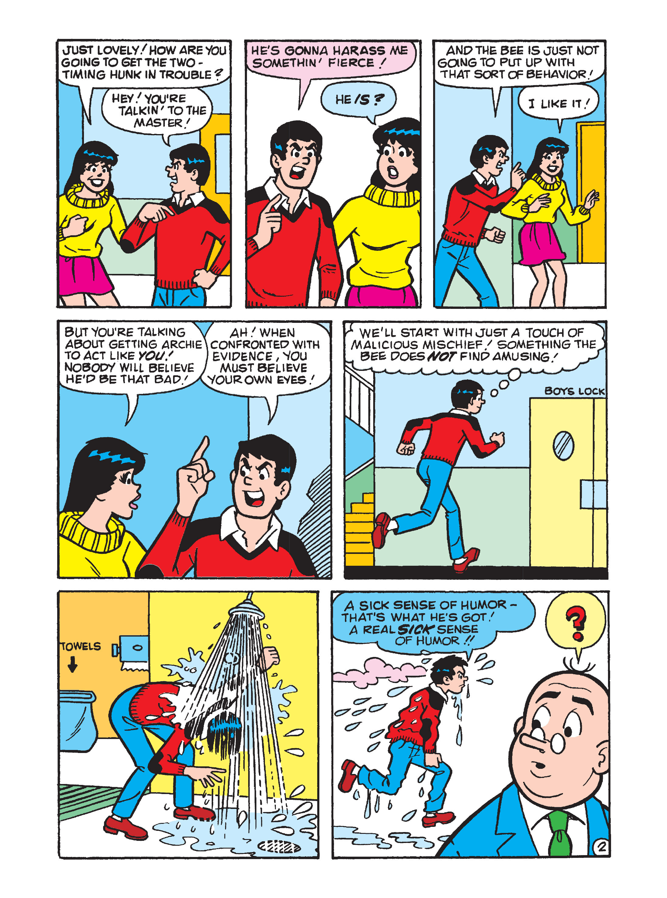Read online Archie's Funhouse Double Digest comic -  Issue #12 - 9