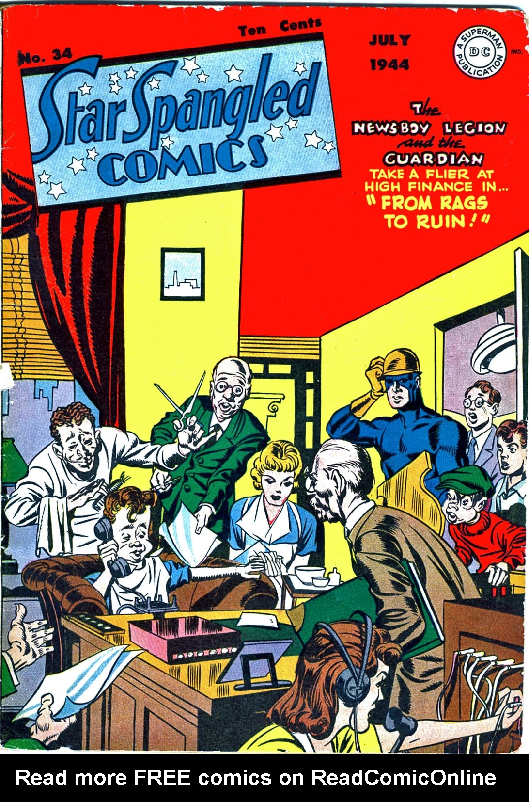 Star Spangled Comics (1941) 34 Page 1