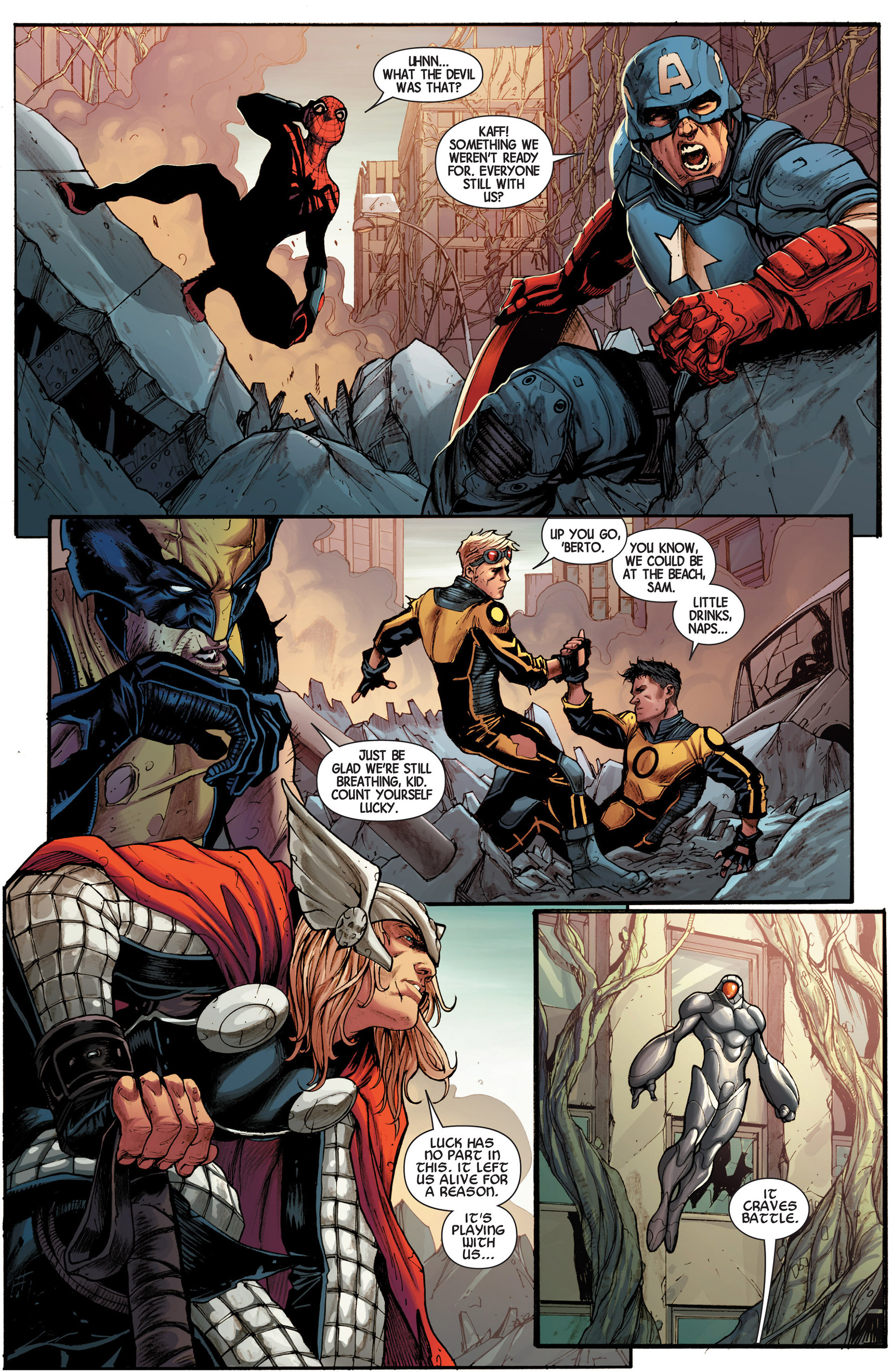 Read online Avengers (2013) comic -  Issue #16 - 13