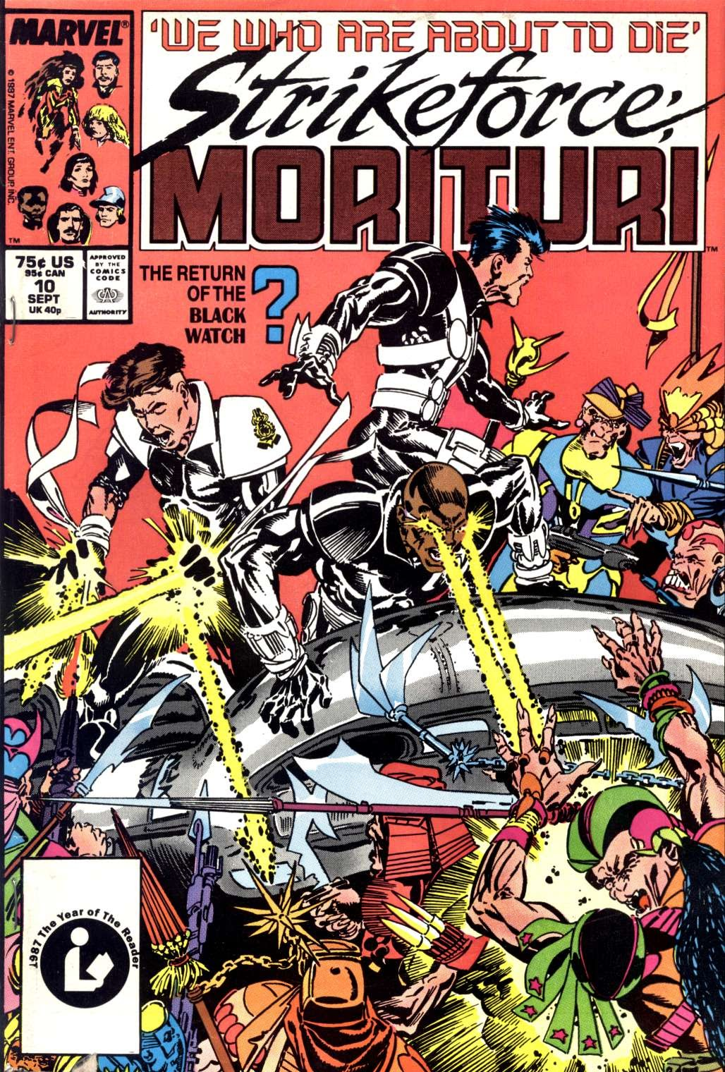 Strikeforce: Morituri 10 Page 1