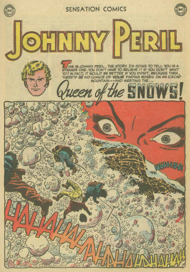 Read online Sensation (Mystery) Comics comic -  Issue #107 - 25