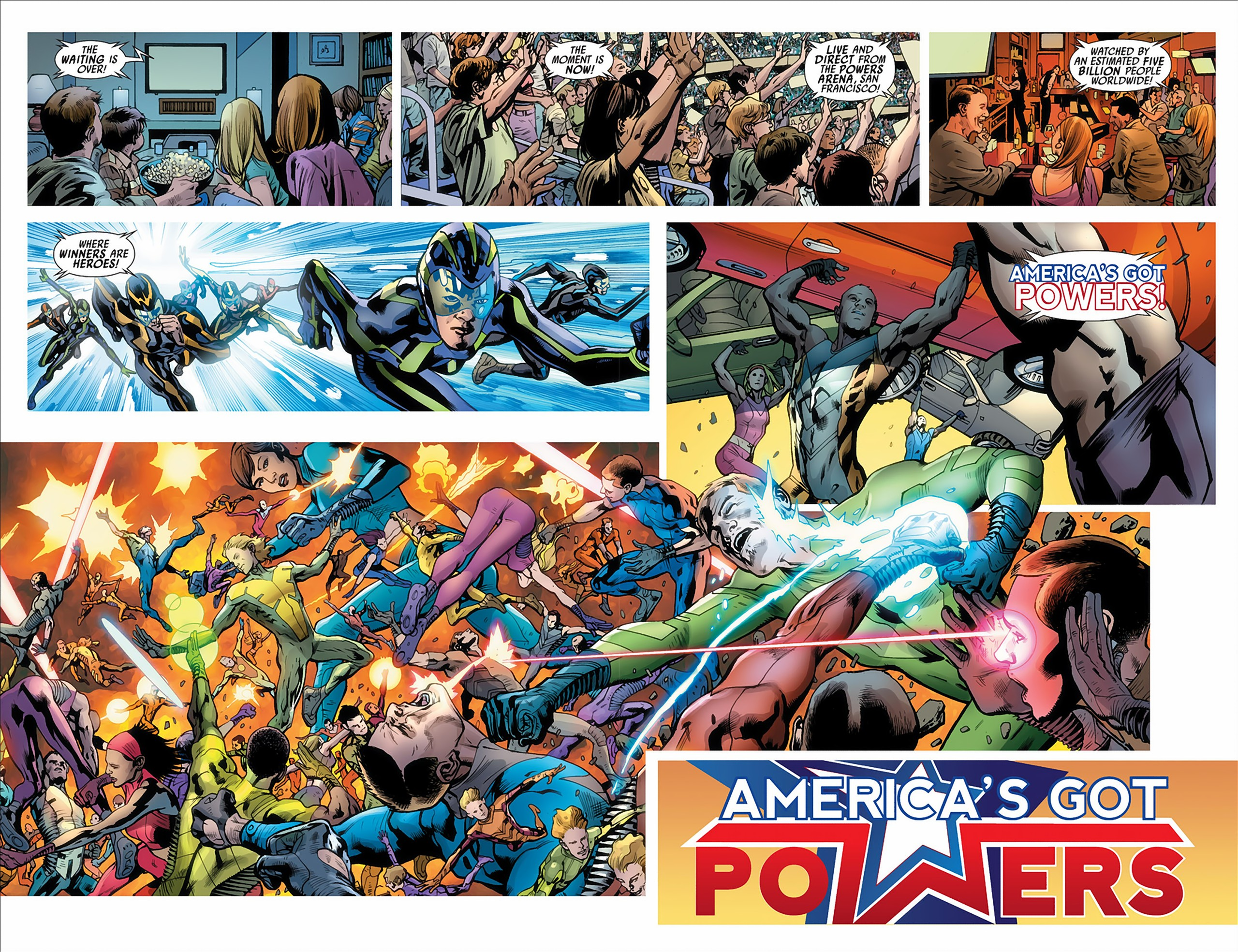 Read online America's Got Powers comic -  Issue #2 - 21