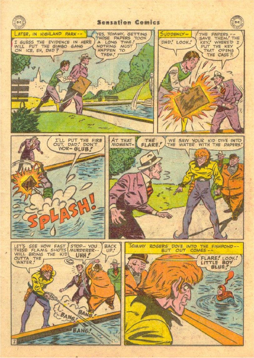 Read online Sensation (Mystery) Comics comic -  Issue #70 - 16