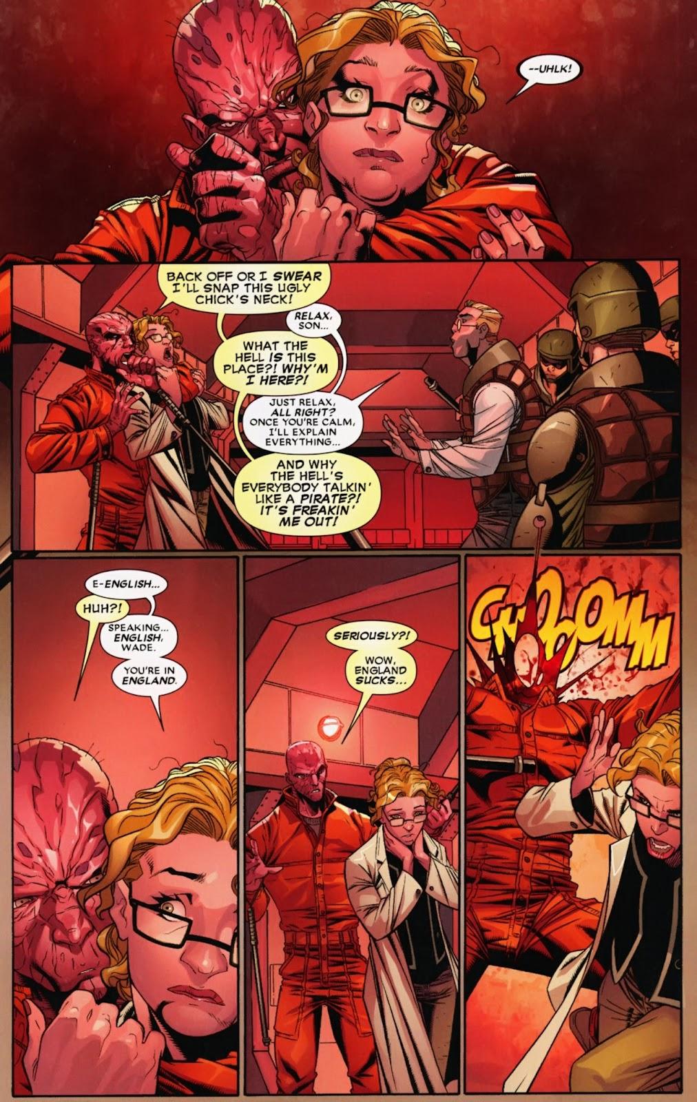 Read online Deadpool (2008) comic -  Issue #40 - 12