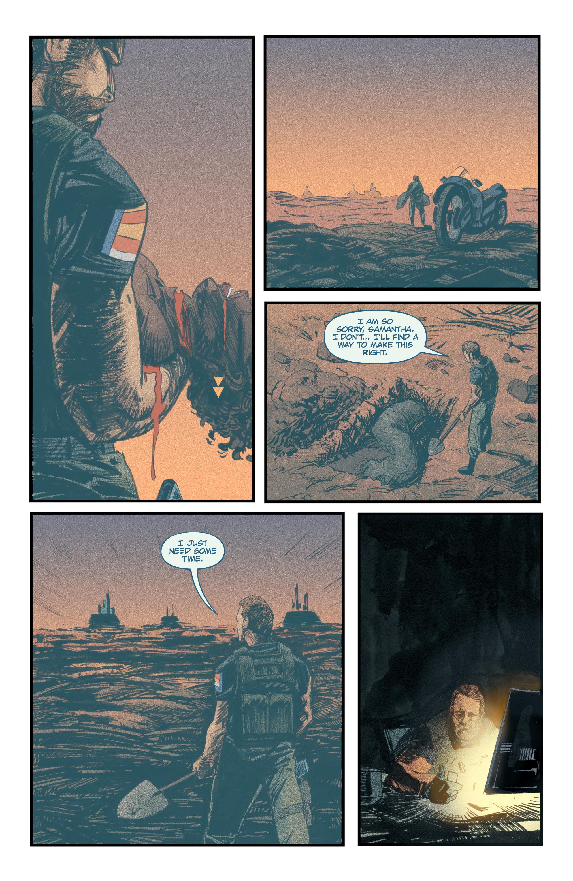 Read online Redline comic -  Issue #4 - 17
