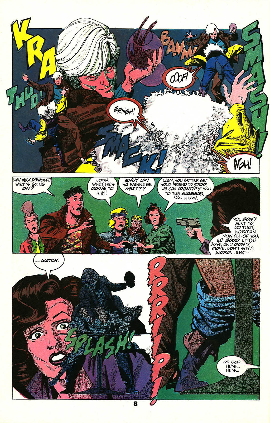 Read online American Flagg! comic -  Issue #48 - 10