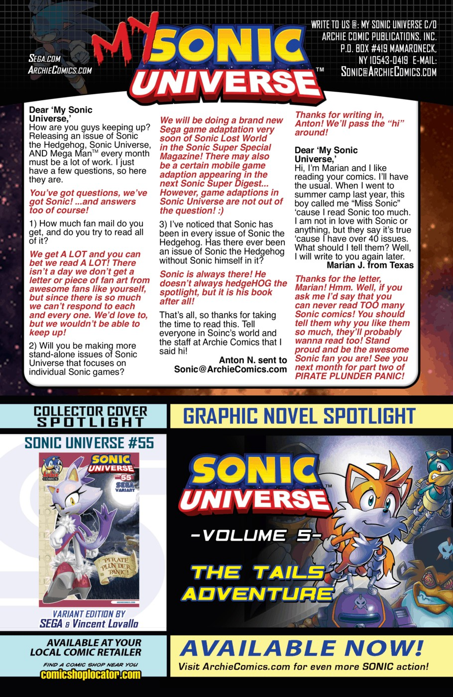 Read online Sonic Universe comic -  Issue #55 - 24