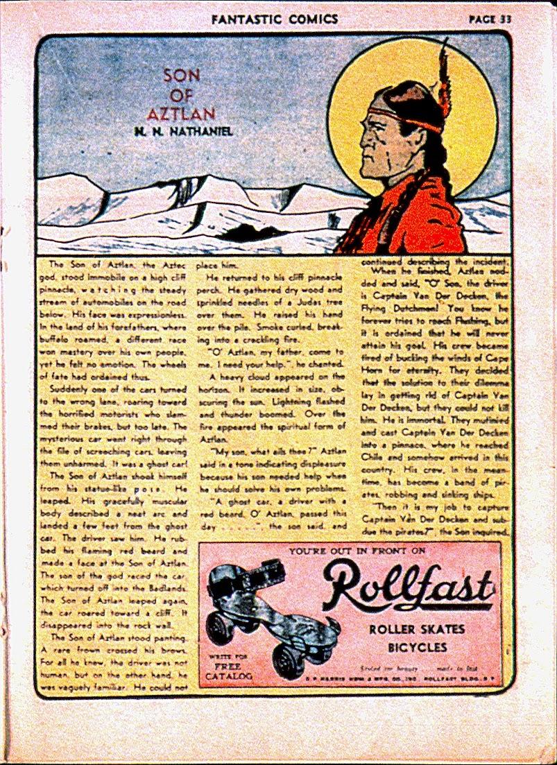 Read online Fantastic Comics comic -  Issue #13 - 36