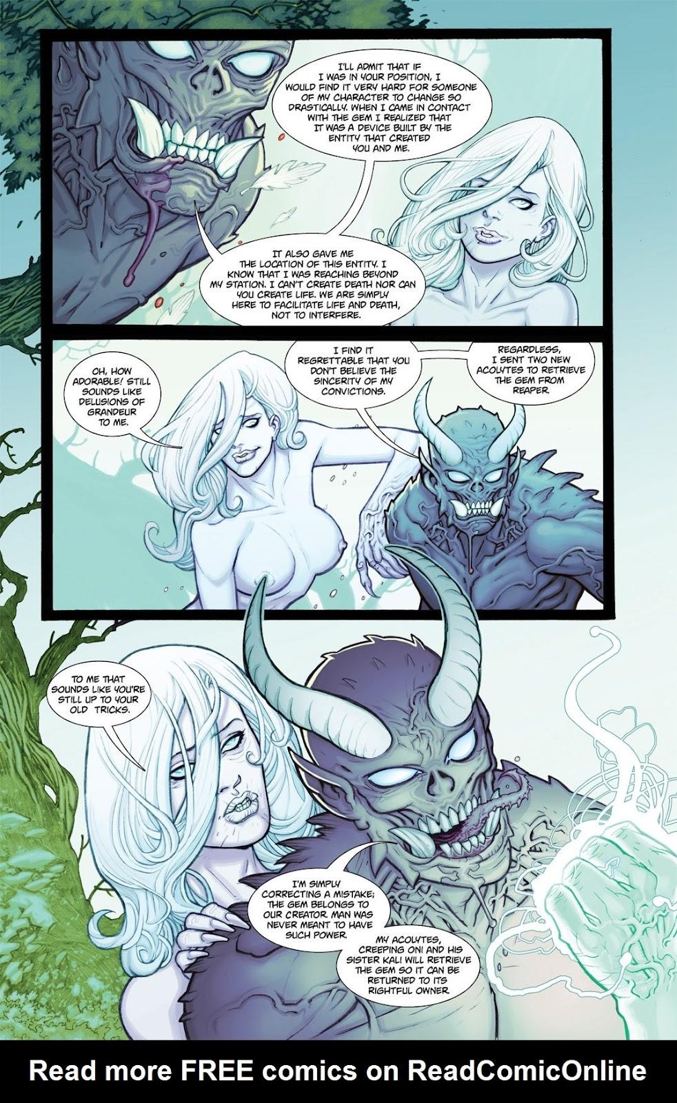 Read online Reaper comic -  Issue #2 - 5