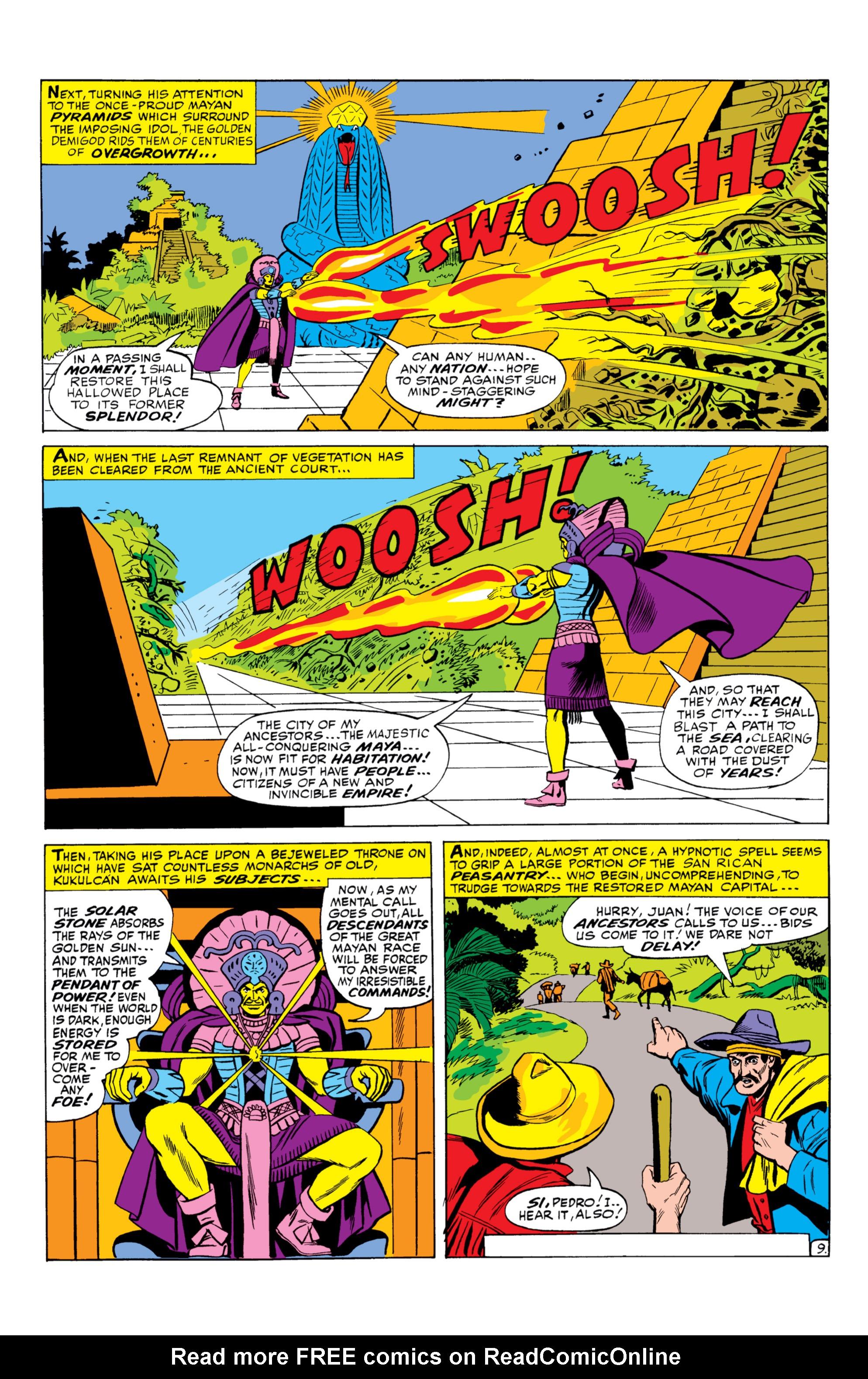 Read online Uncanny X-Men (1963) comic -  Issue #26 - 10