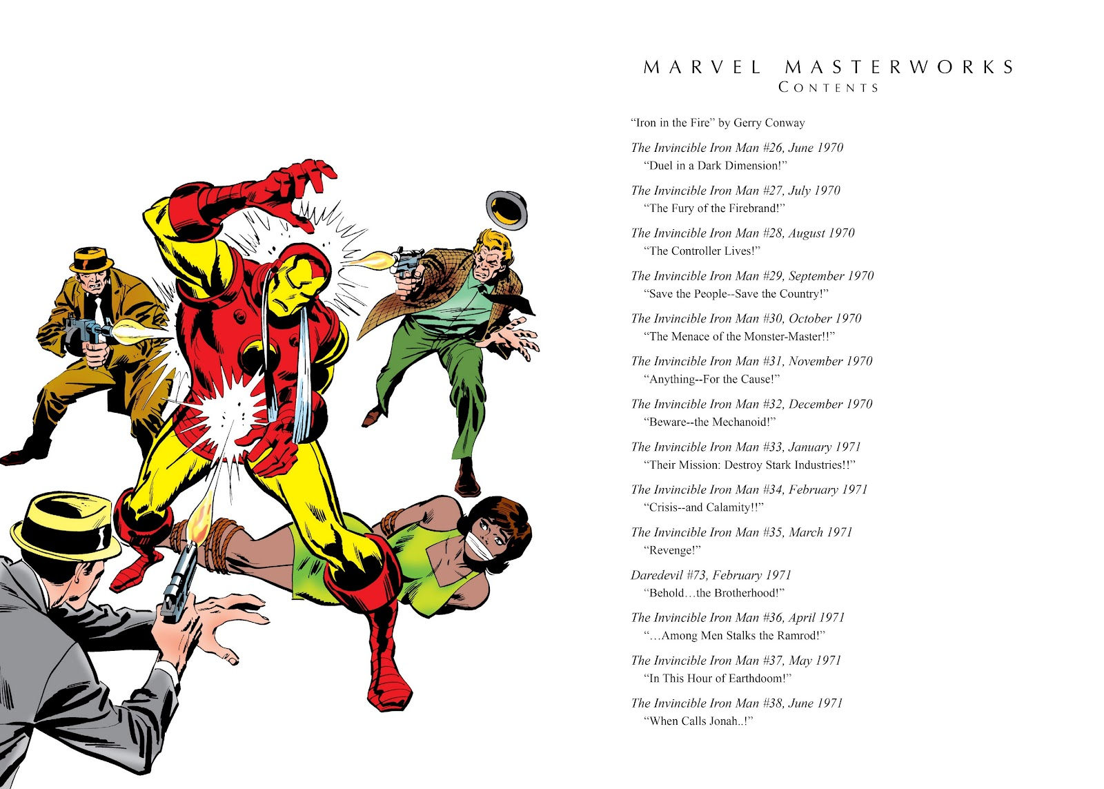 Read online Marvel Masterworks: The Invincible Iron Man comic -  Issue # TPB 7 (Part 1) - 4