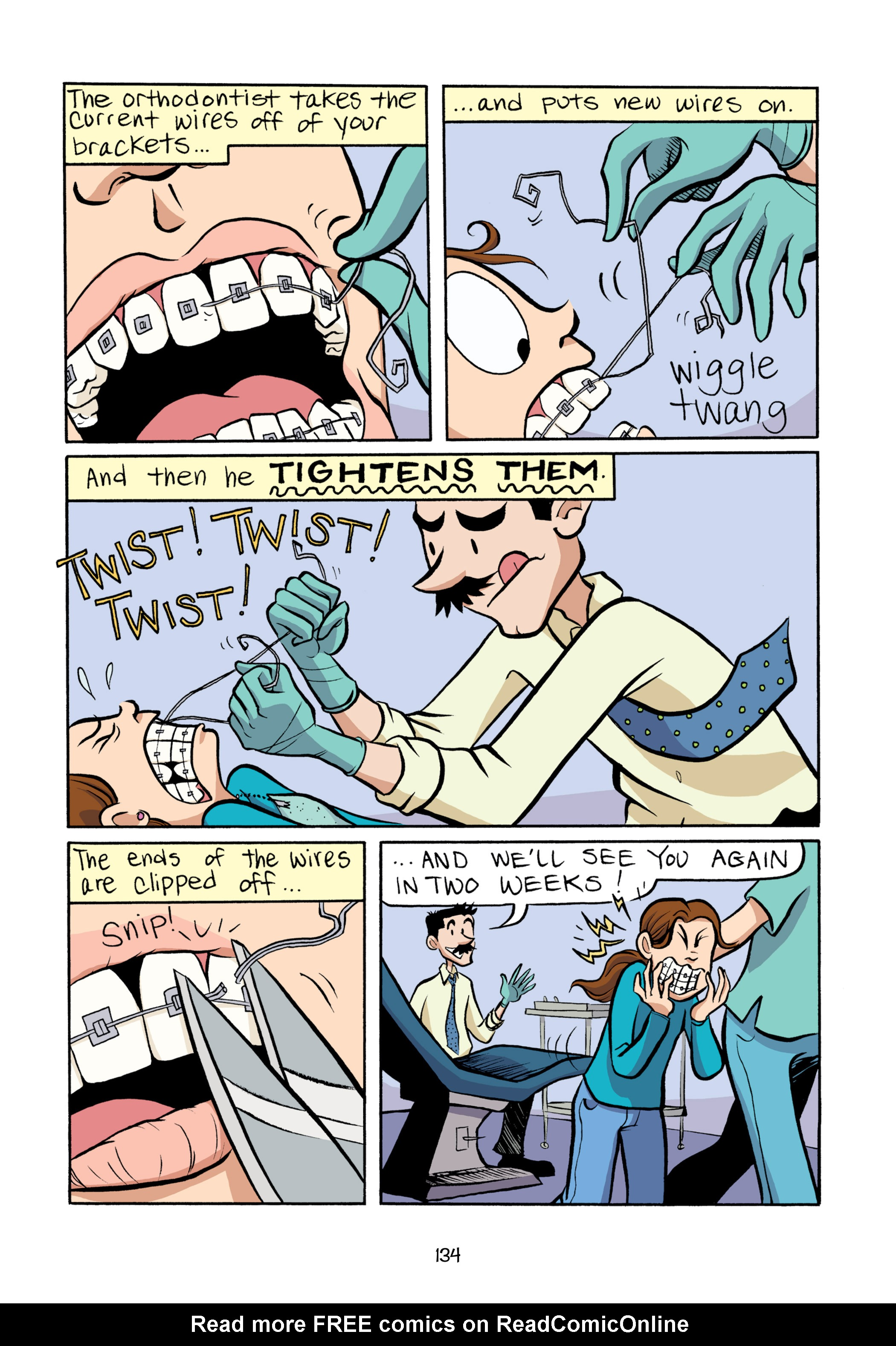 Read online Smile comic -  Issue # TPB - 140